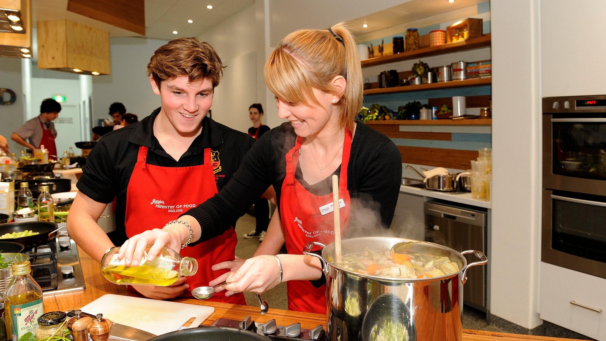 Jamie's Ministry of Food Geelong