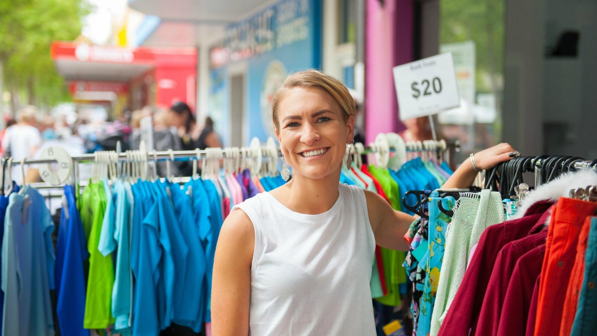 Central Geelong Sidewalk Sales