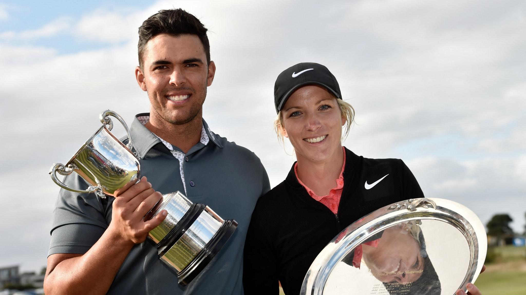 2017 Champions Dimi Papadatos & Mel Reid