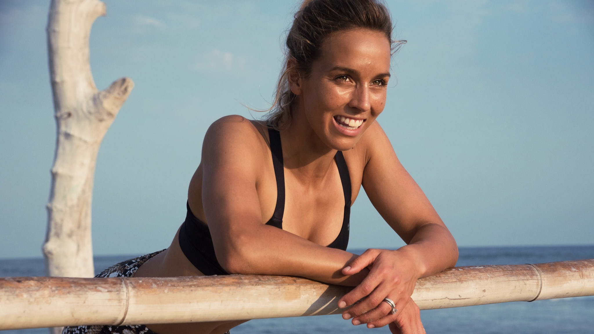 Workout with Sally Fitzgibbons