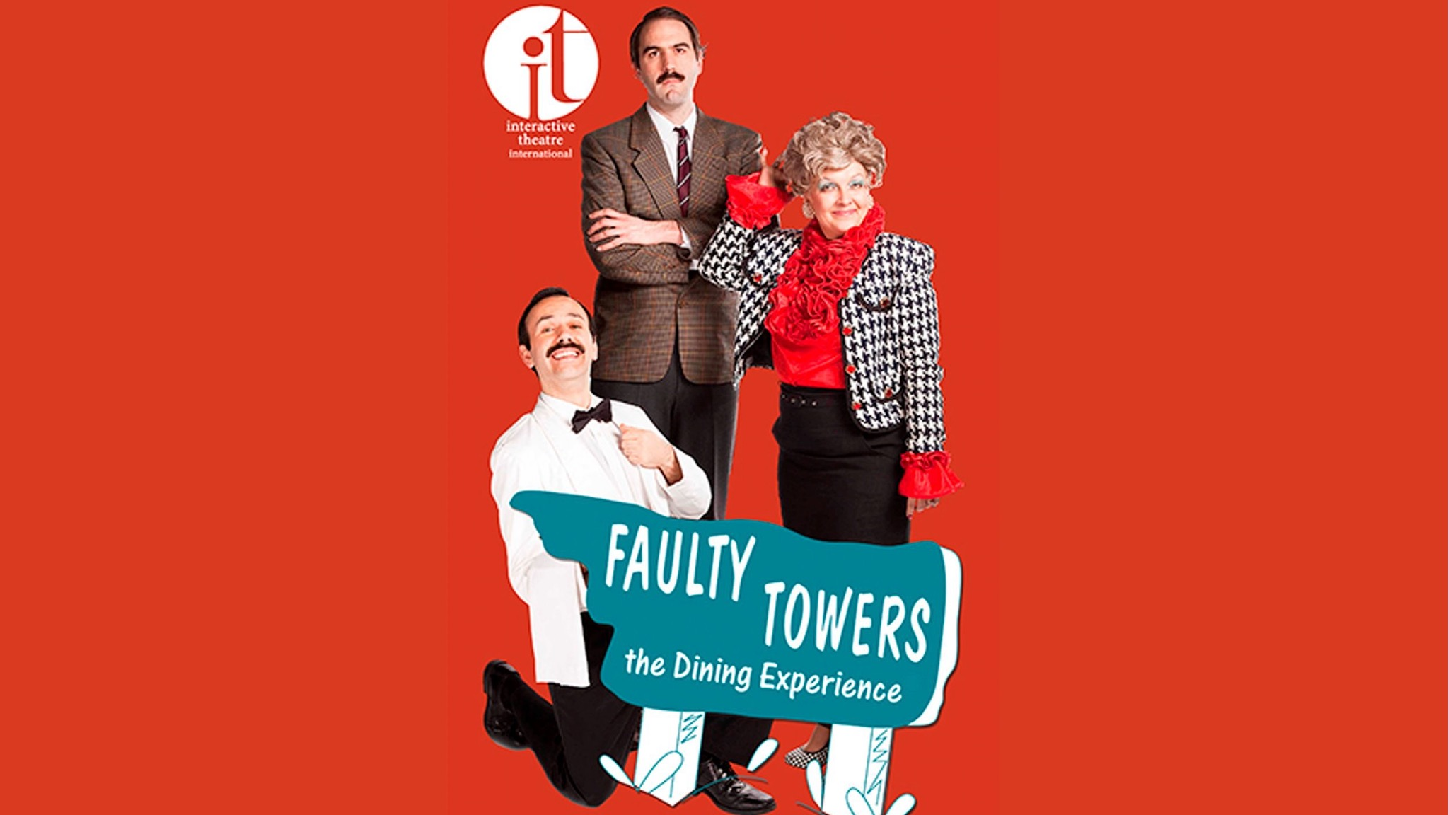 The cast of Faulty Towers