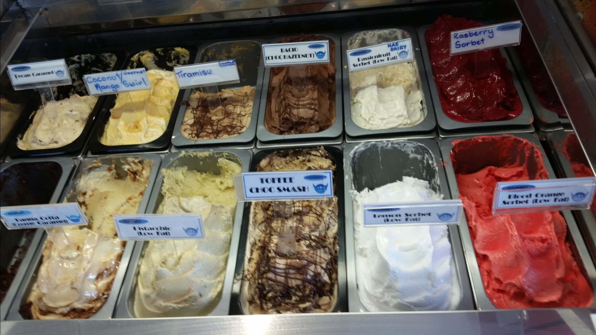 Gelato Display