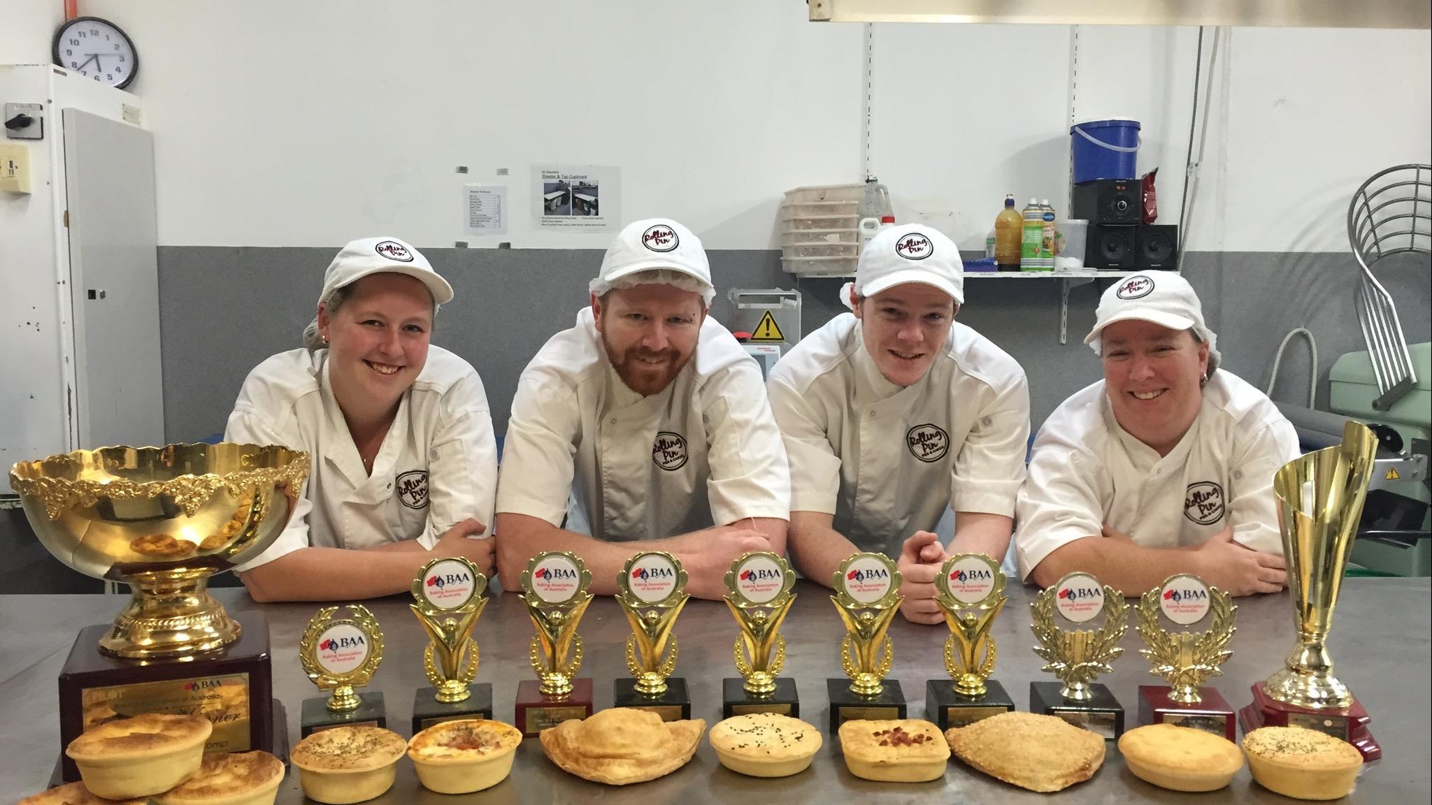 Bakers w/ trophies