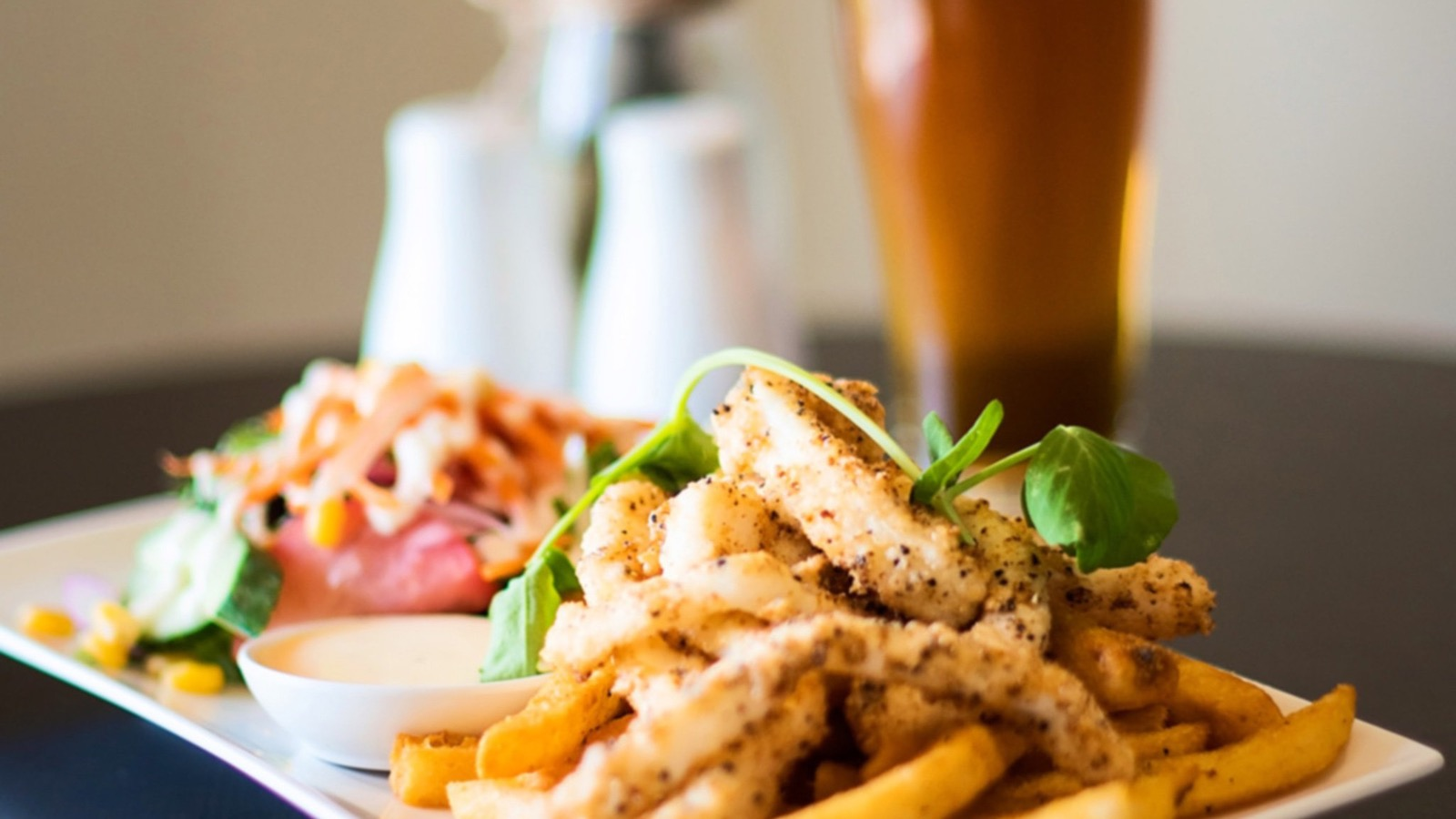 Queenscliff Brewhouse - Salt and Pepper Calamari