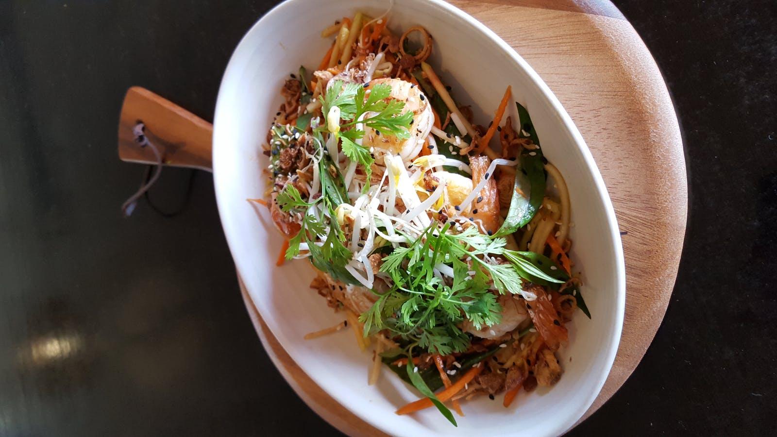 Vietnamese Green Mang Salad