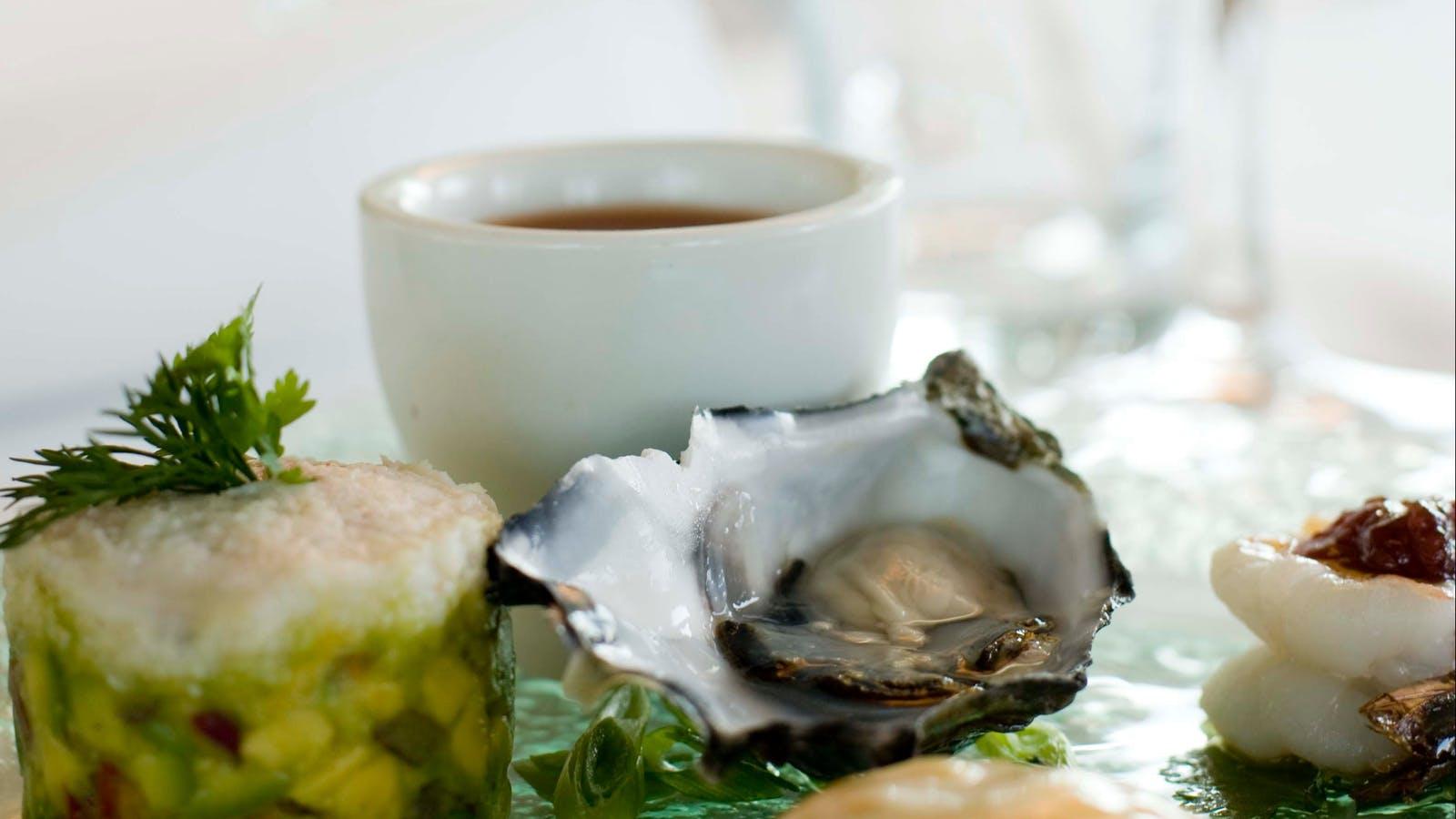 Beautiful food from Fishermen's Pier
