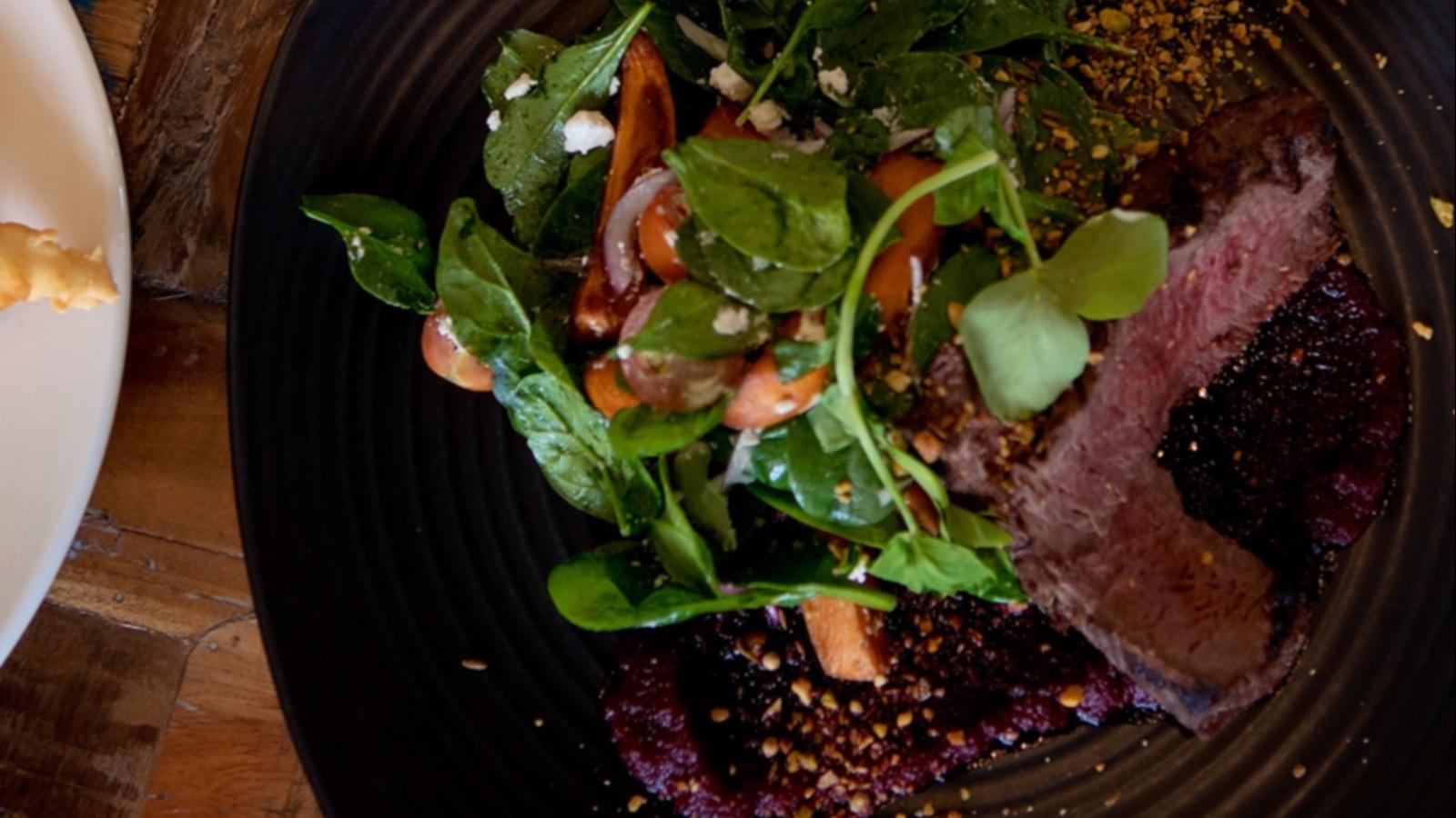 Queenscliff Brewhouse - Kangaroo Fillet Salad