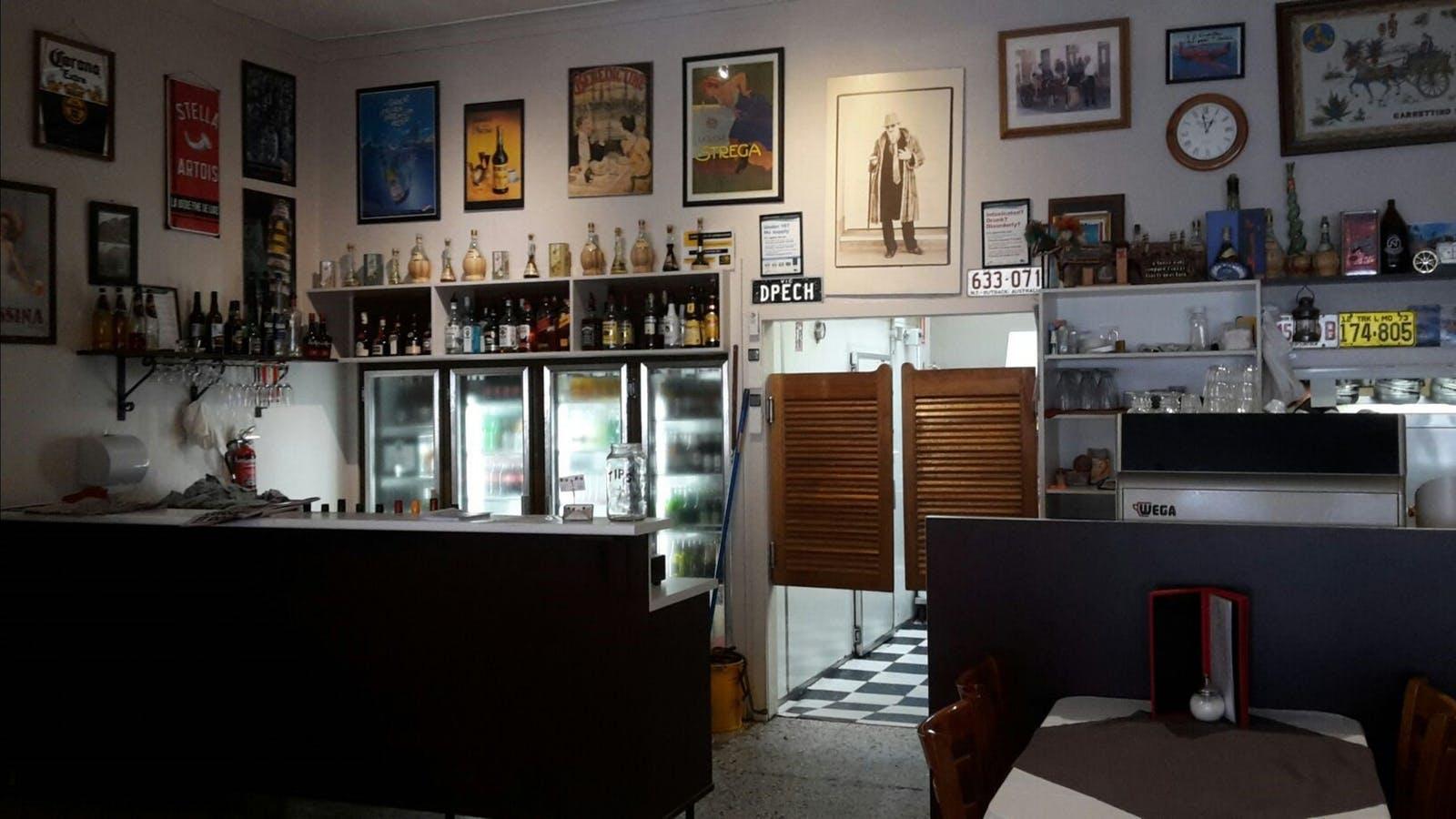 Interior of Lipari Restaurant