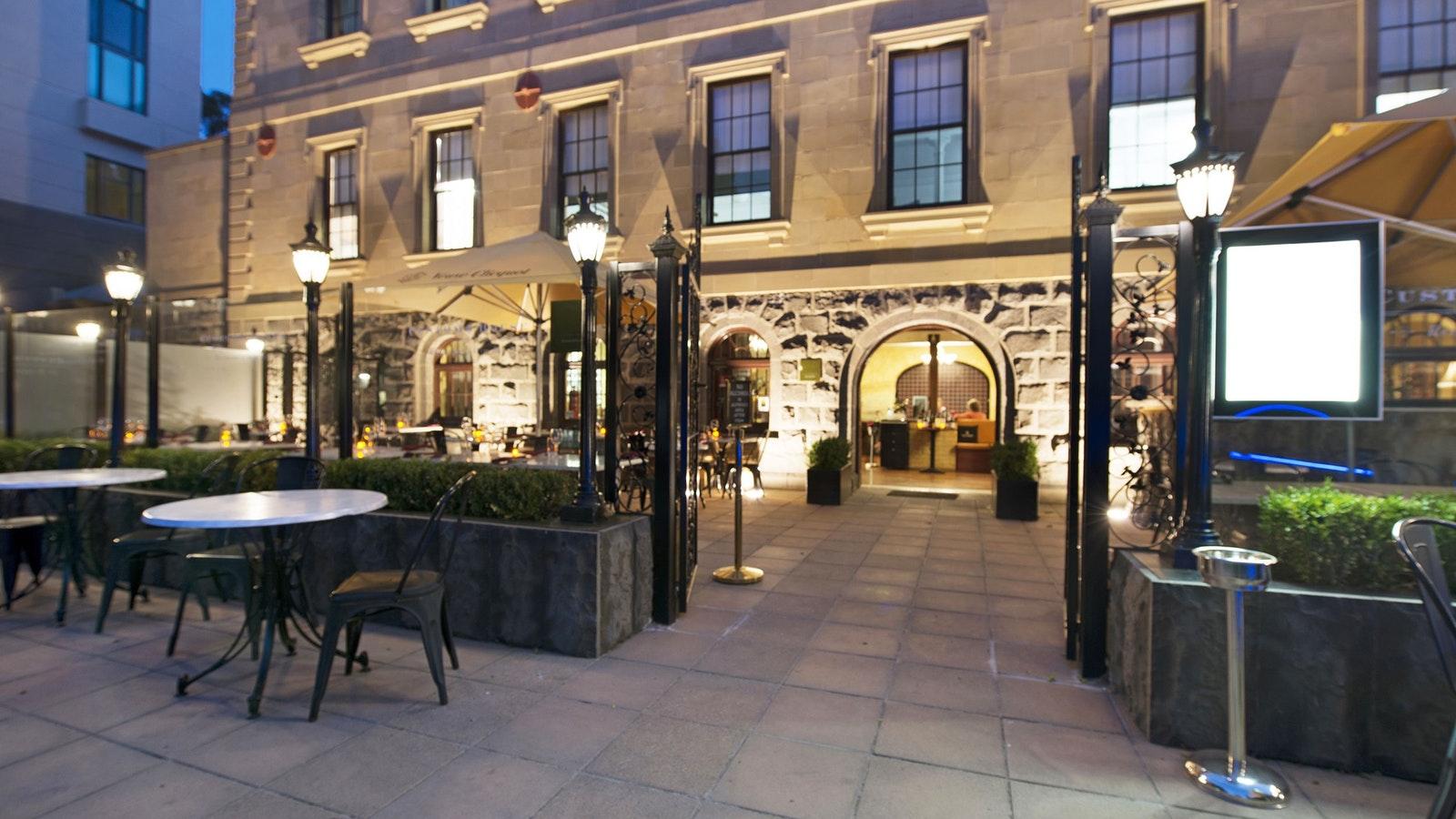 Customs House Taverna Entrance