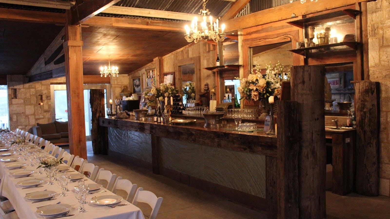 function venue bellarine winery