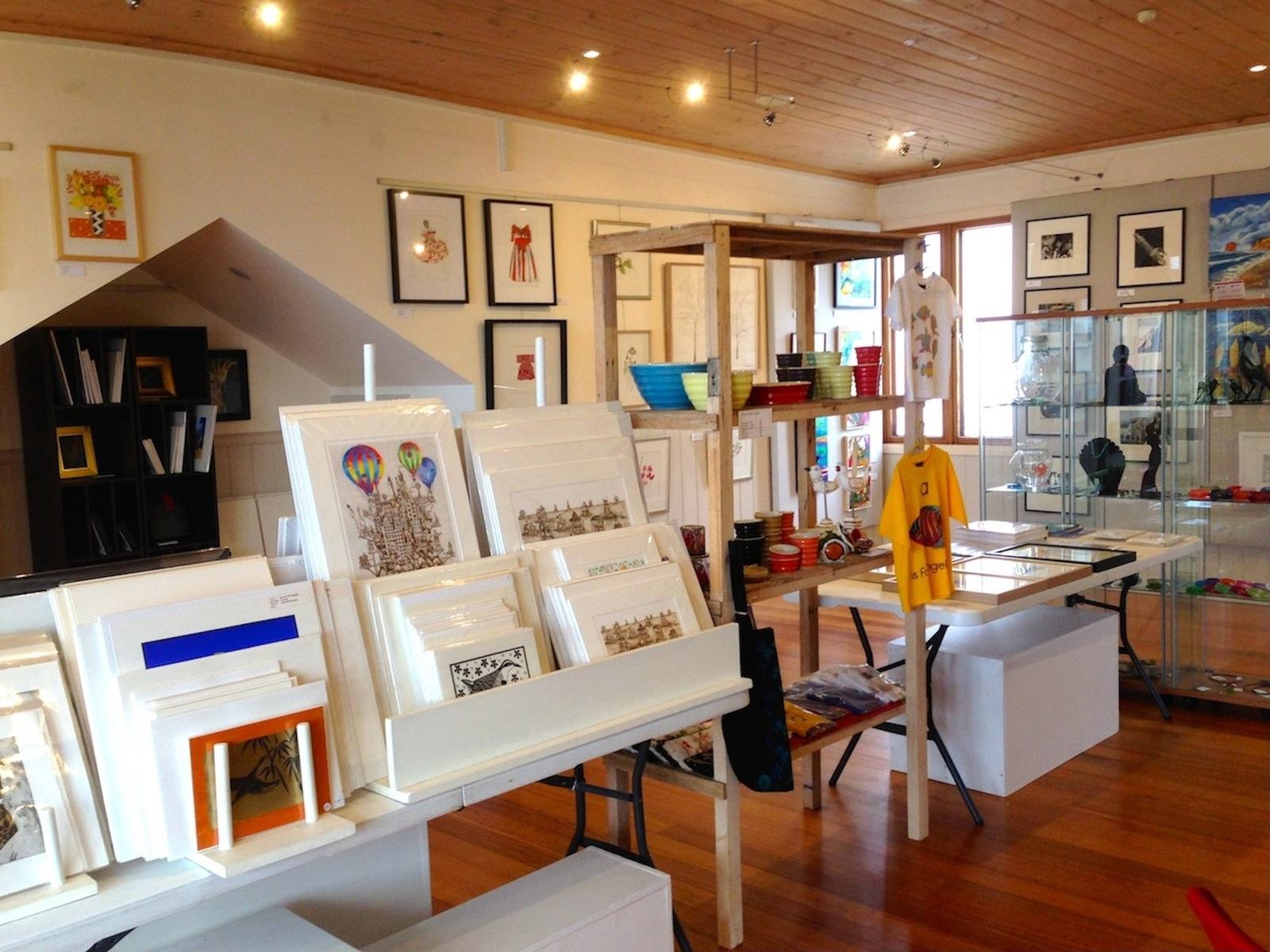 Tussock Upstairs Gallery interior