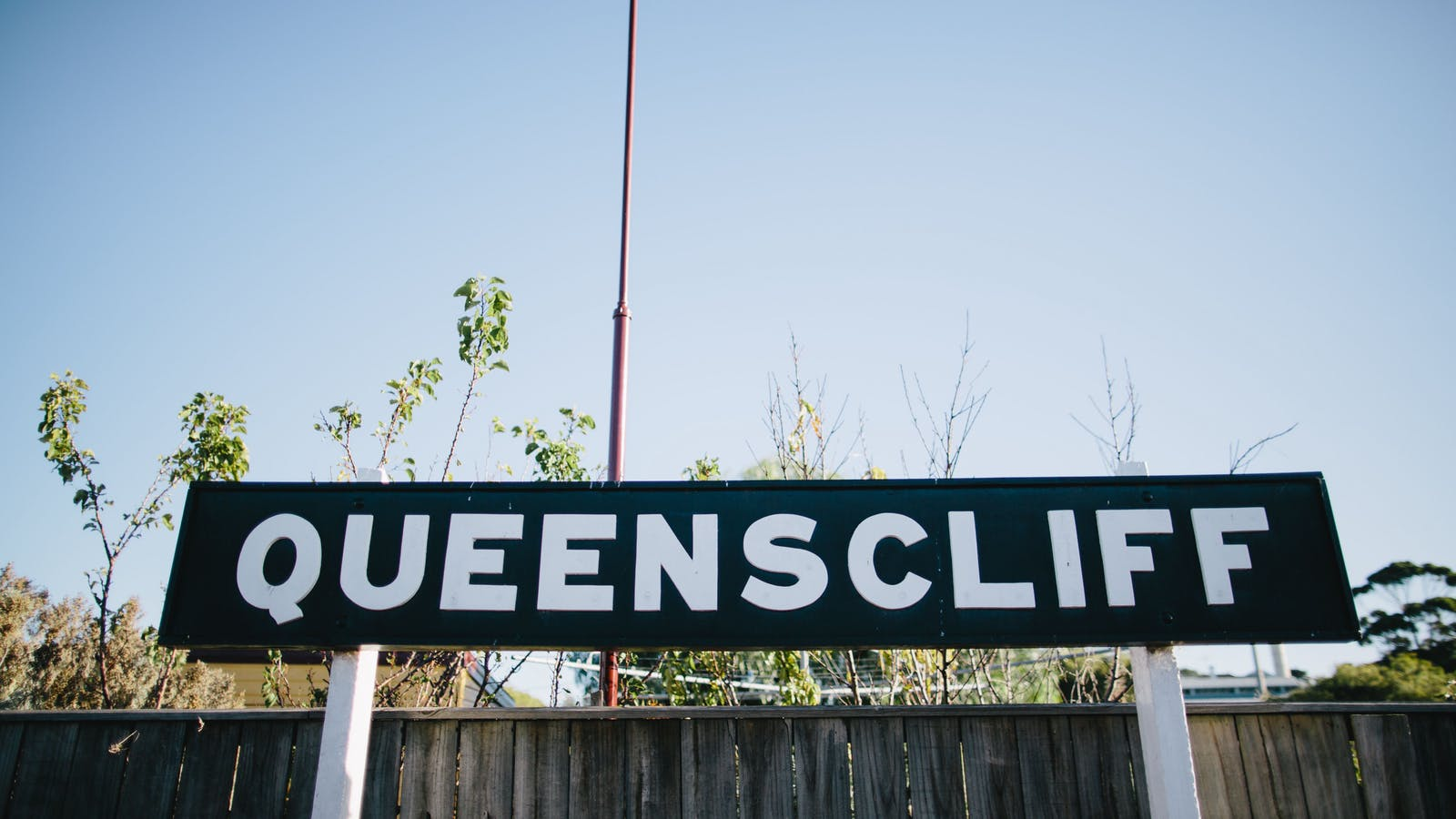Queenscliff Railway Station - home of The Blues Train