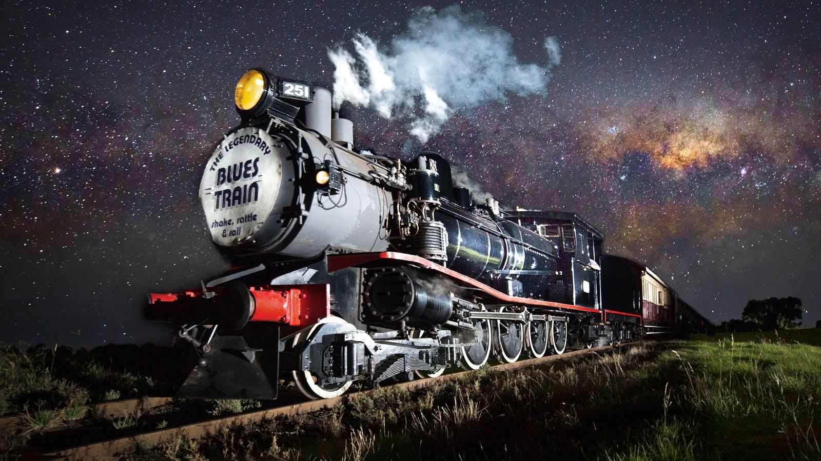 The Blues Train and TClass 251 engine