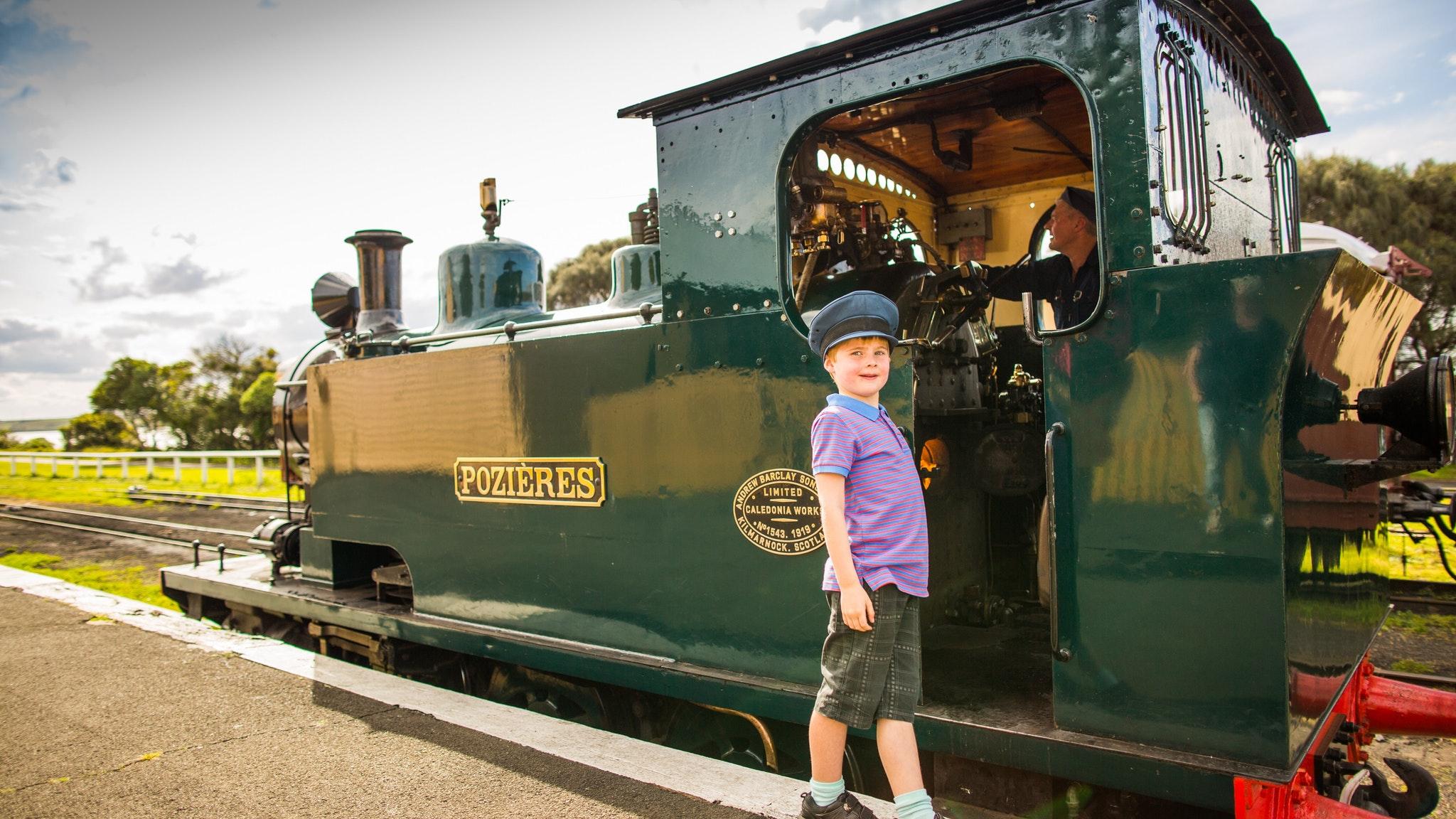 Steam train trips