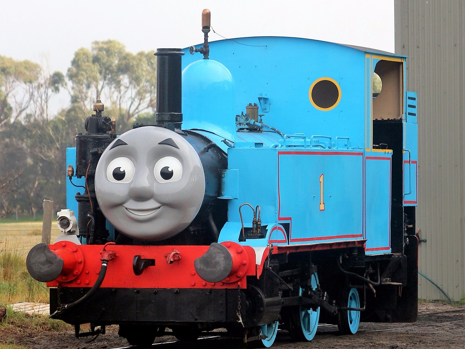 Thomas at Lakers Siding