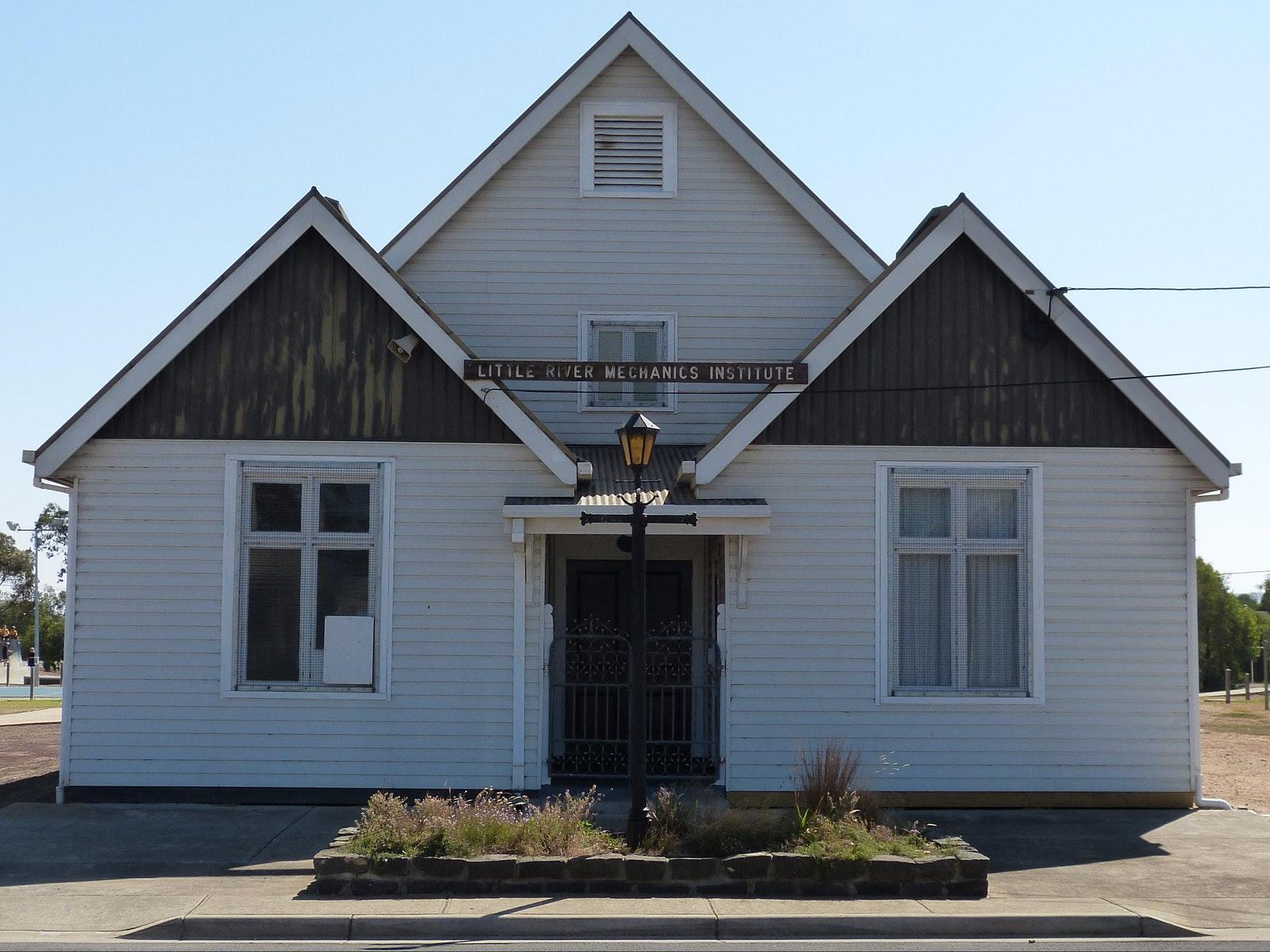 The Little River Mechanics Institute