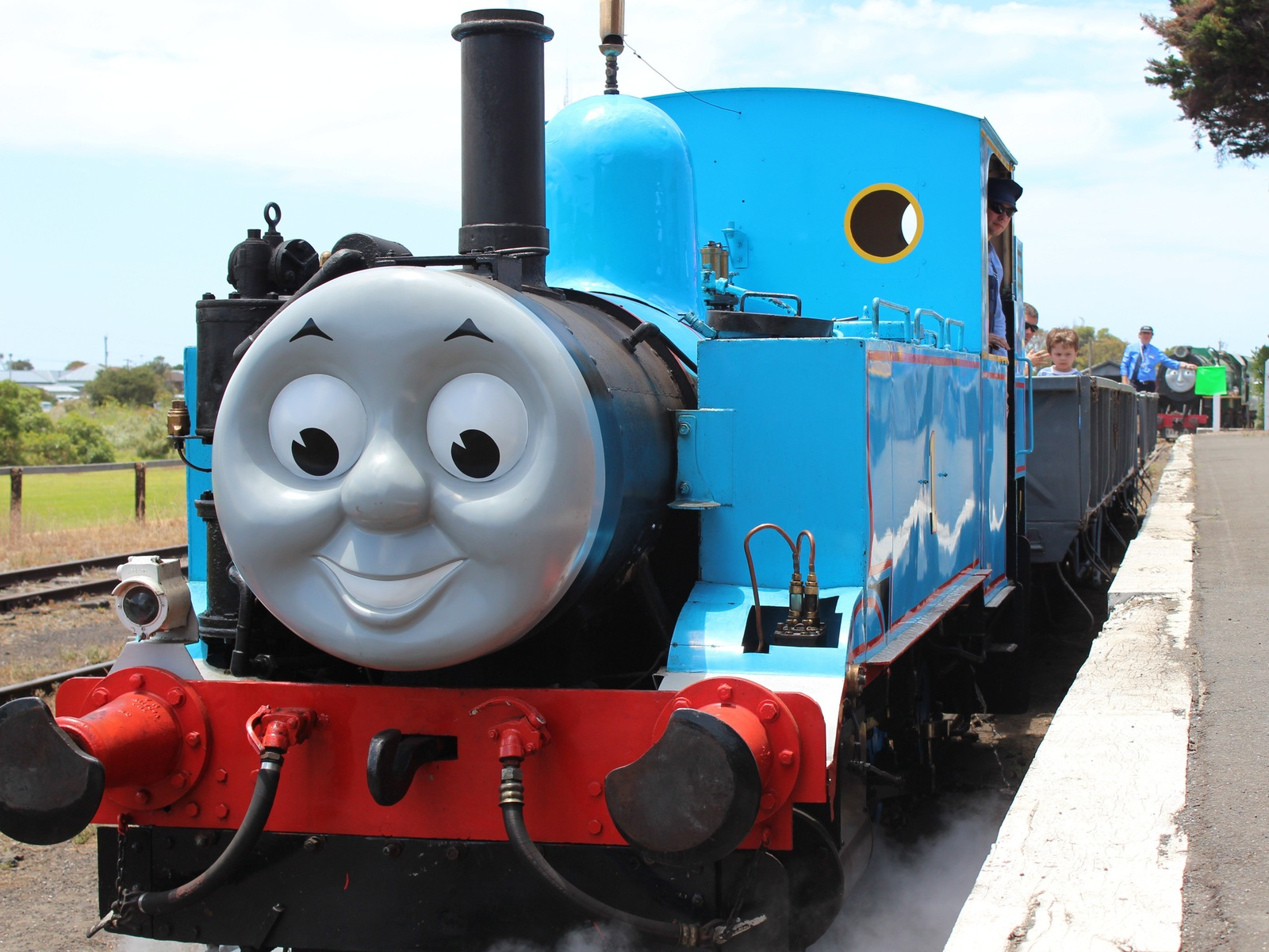 Day out with Thomas at The Bellarine Railway, Queenscliff