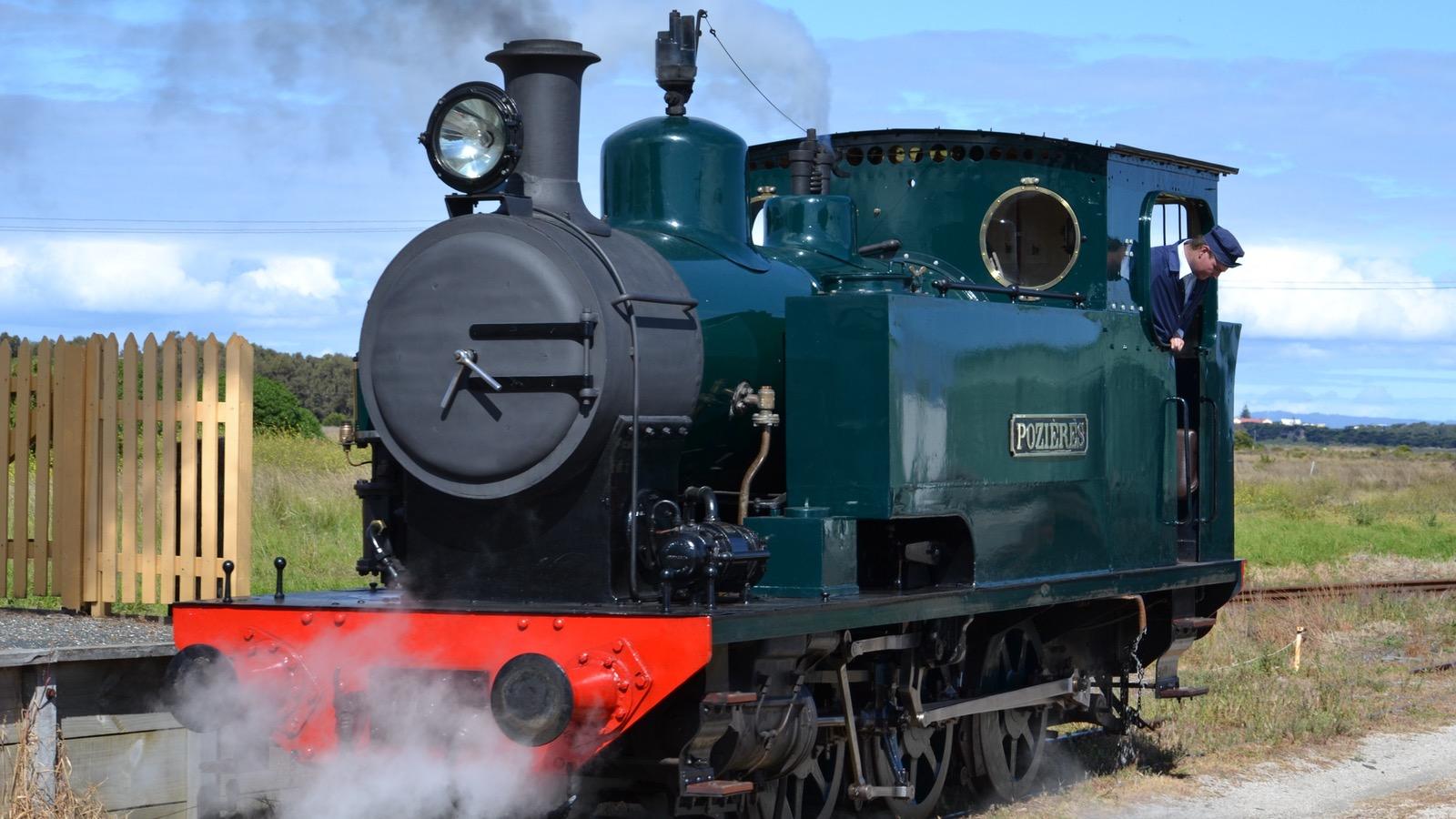 Steam Locomotive Pozieres