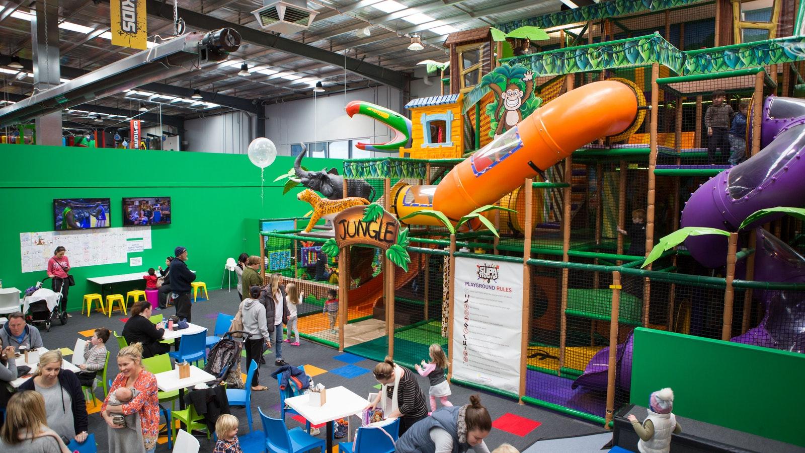 3 storey kids play area