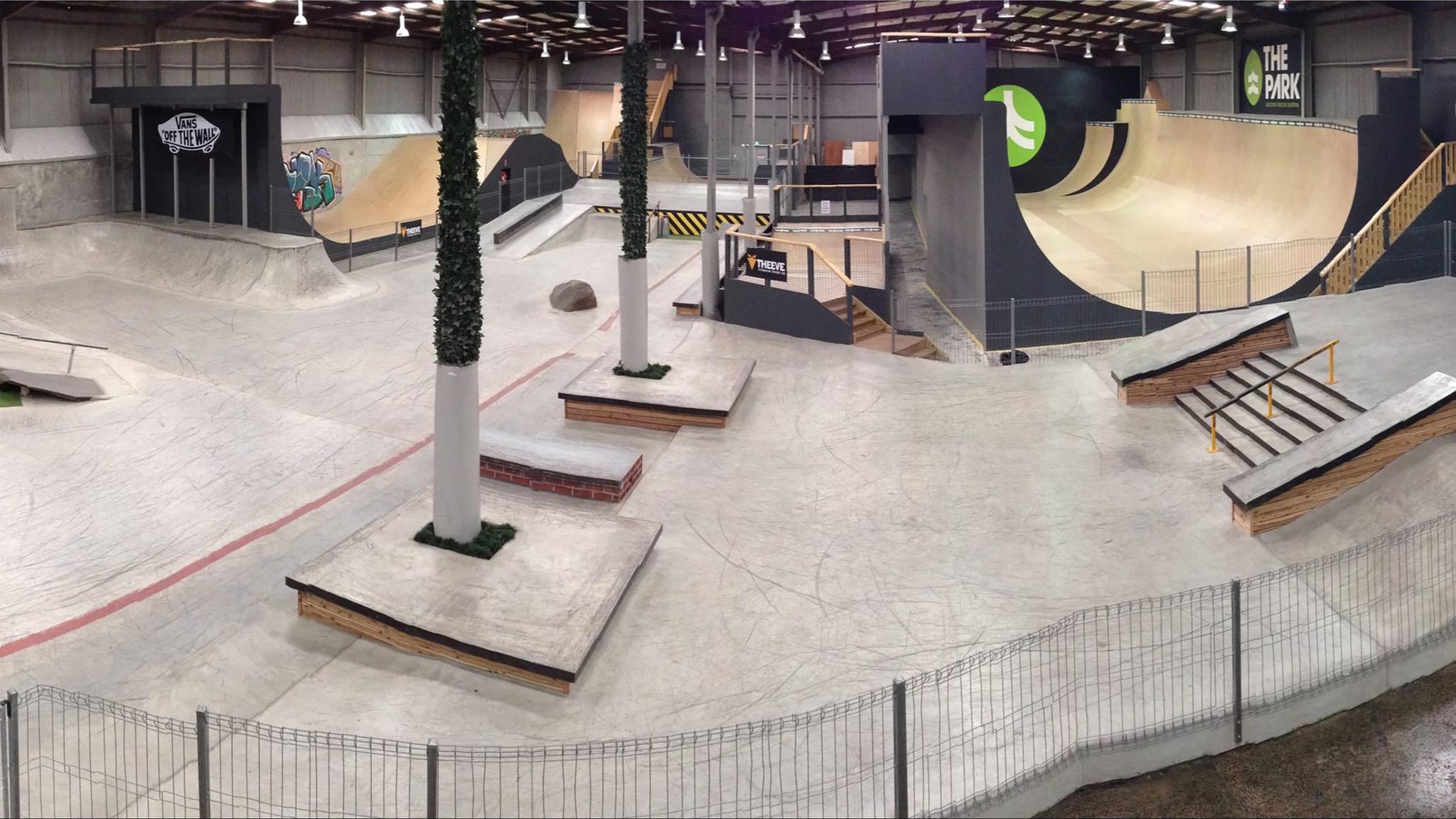 The Park - Geelong Indoor Skatepark