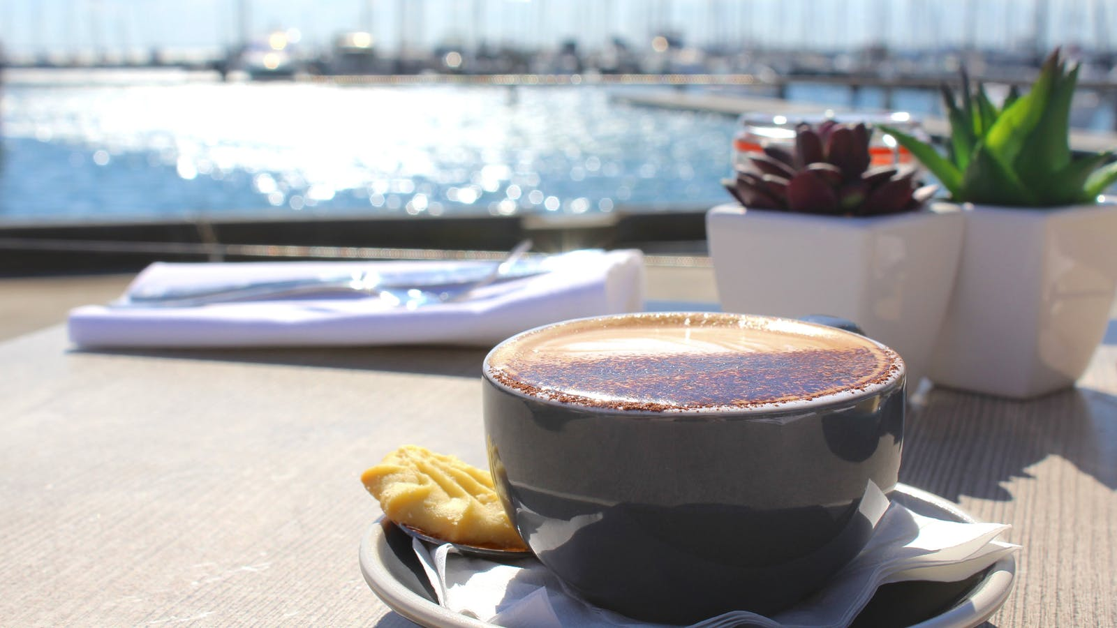 Coffee at Royal Geelong Yacht Club