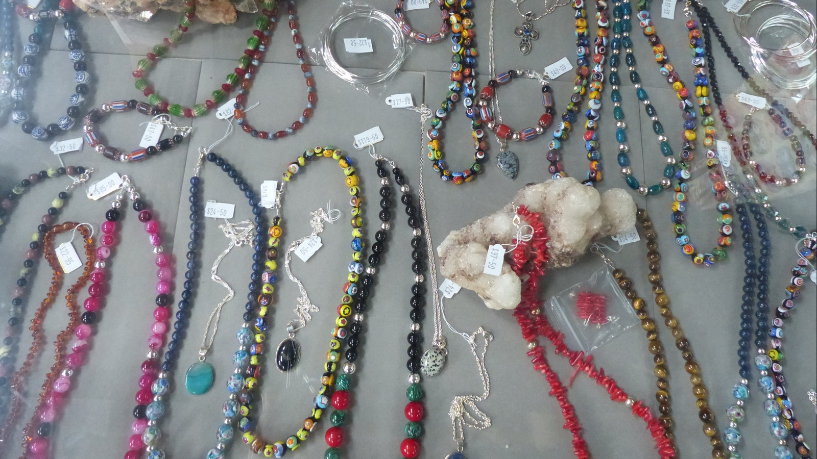Jewellery made onsite in the Jewellery Generation factory