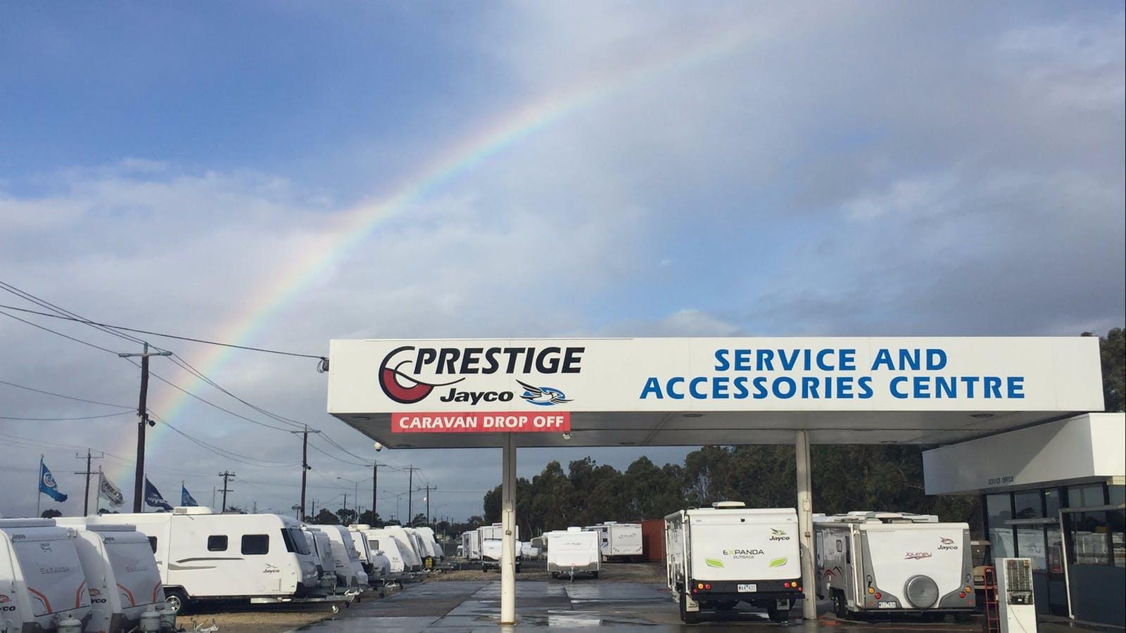 Prestige Jayco Service, Accessories, Warranties Area