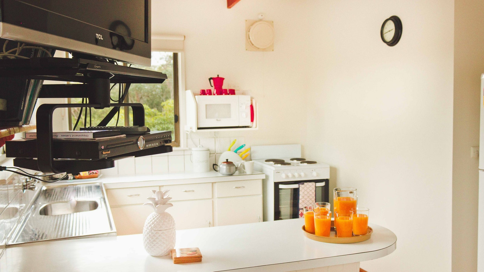 Well equipped kitchen for self caterers