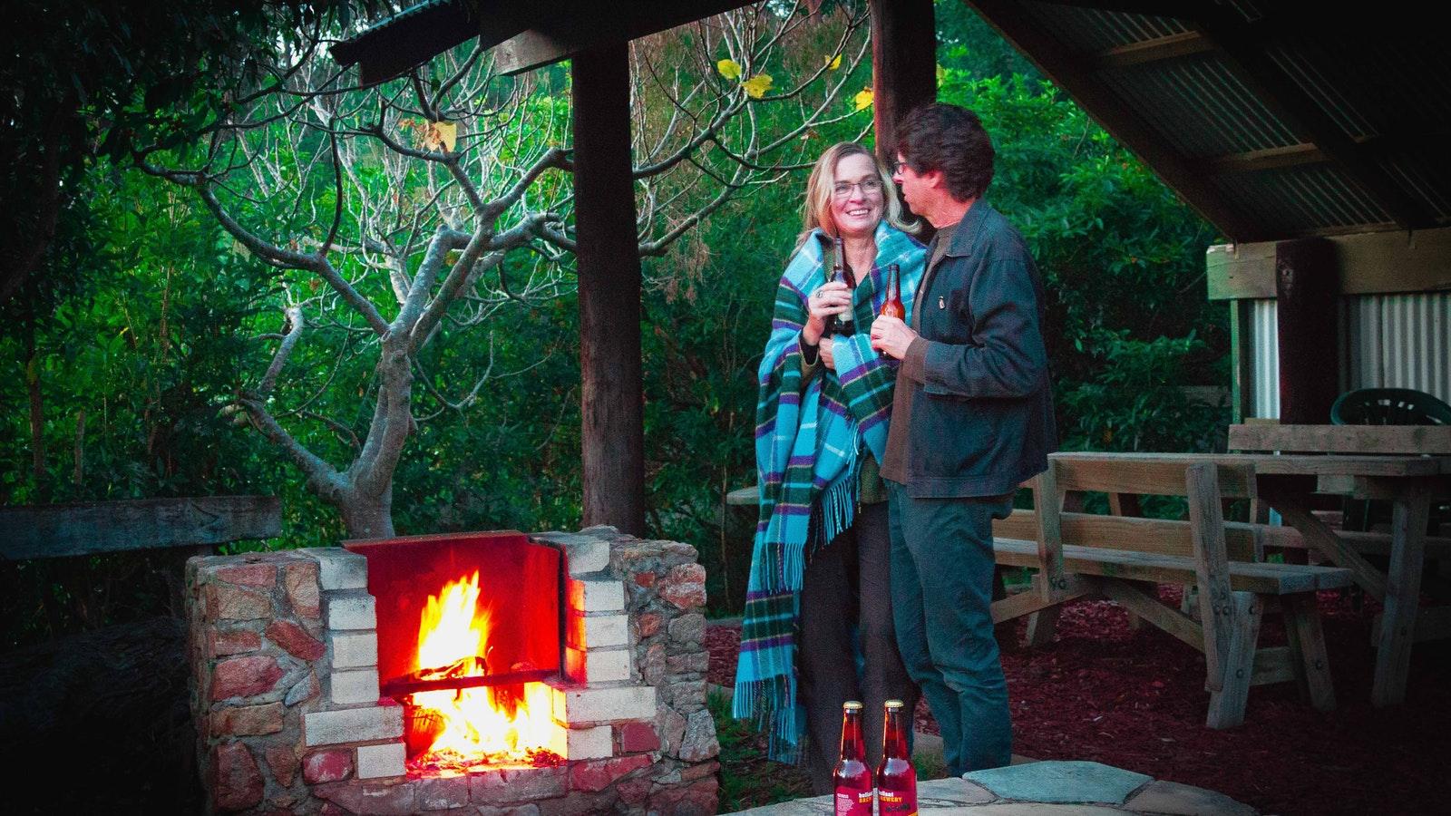 Enjoy a fireside story or a cuddle