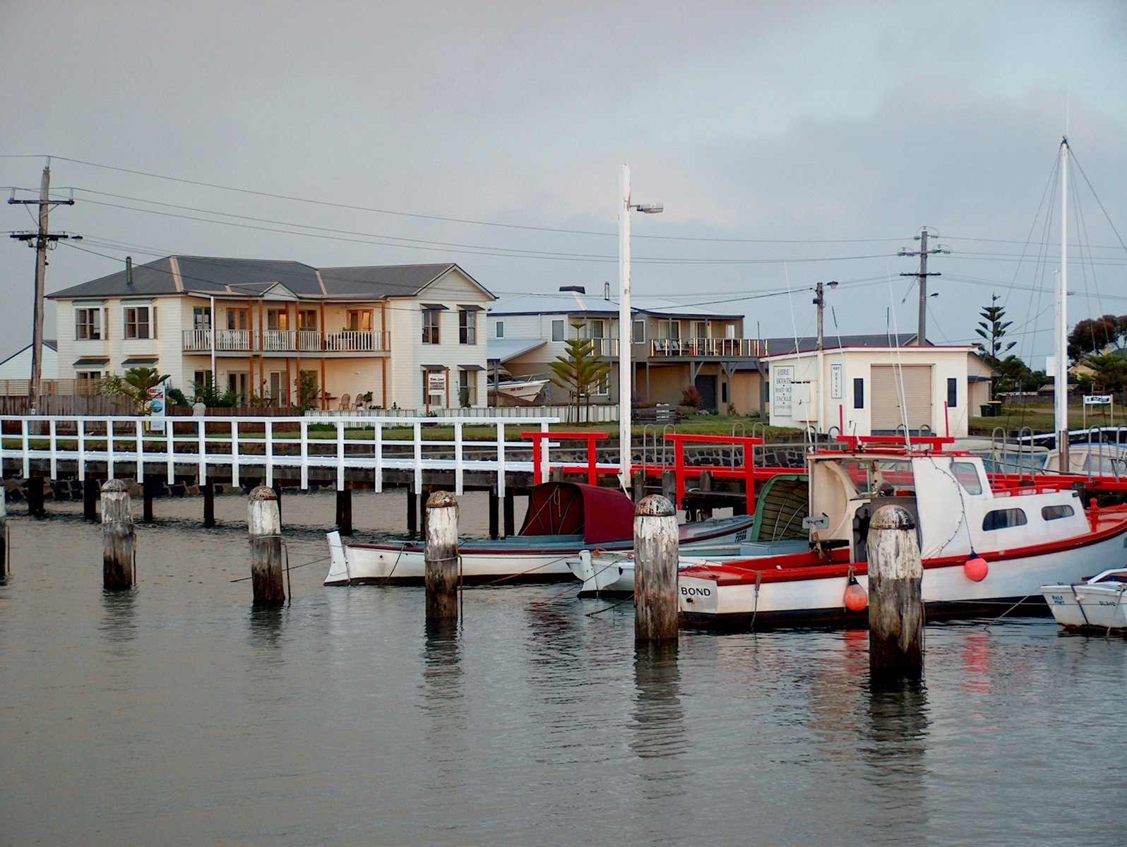 Historic Port Albert , a fishing village with a lot of tourist attractions