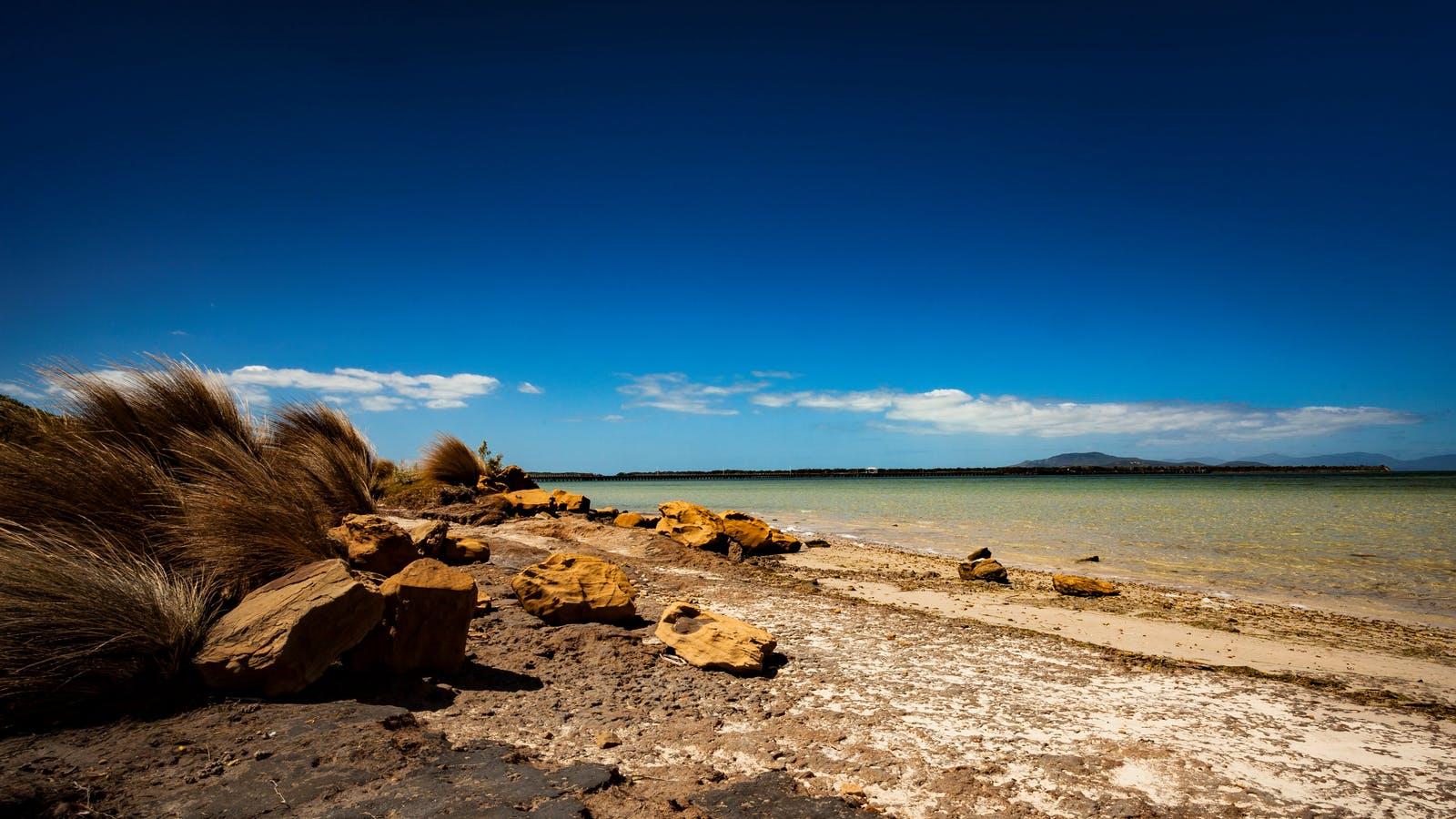 Beach Port Welshpool Foreshore