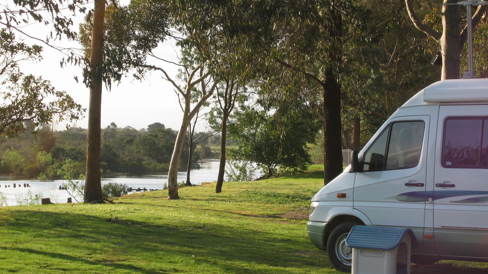 Camping Sites with River Frontage