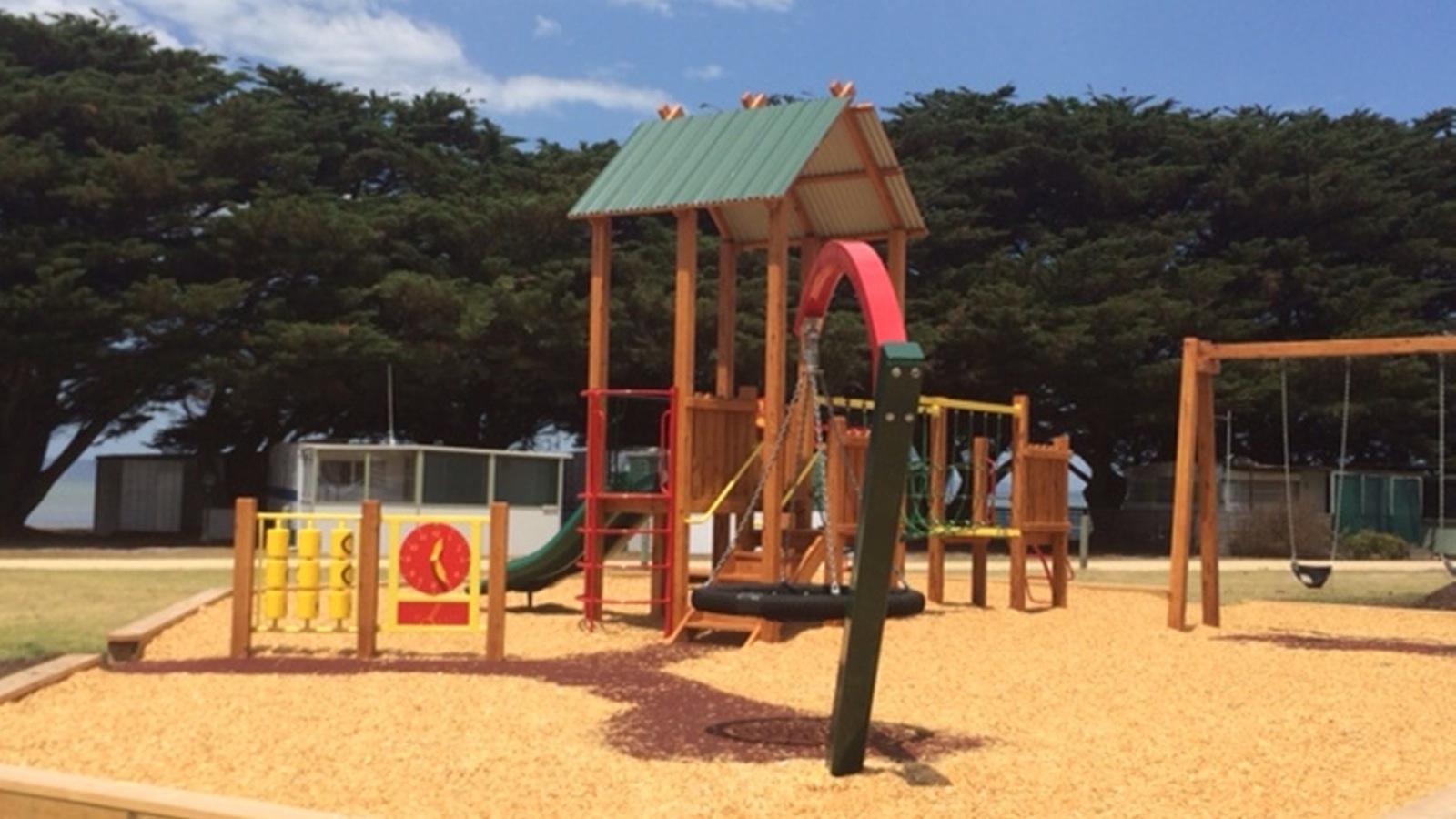 Yanakie Caravan Park Playground