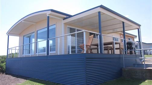Oceanview Cottage picture windows