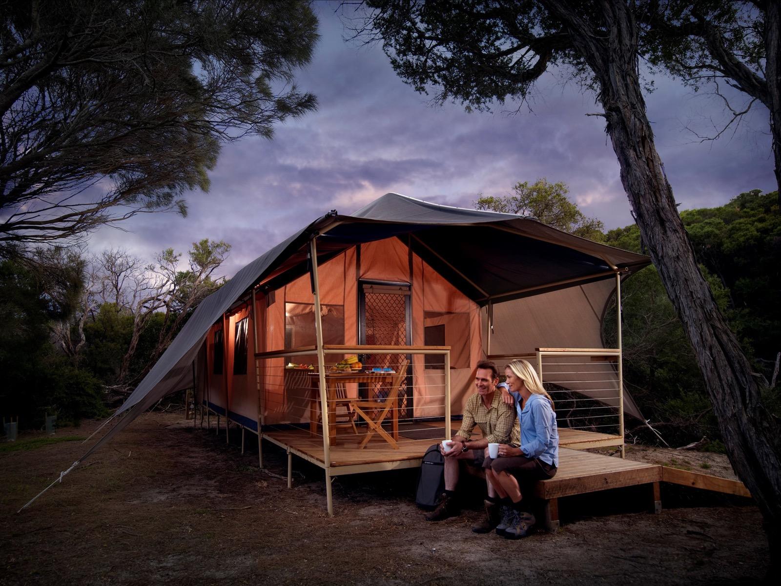 glamping accommodation victoria australia