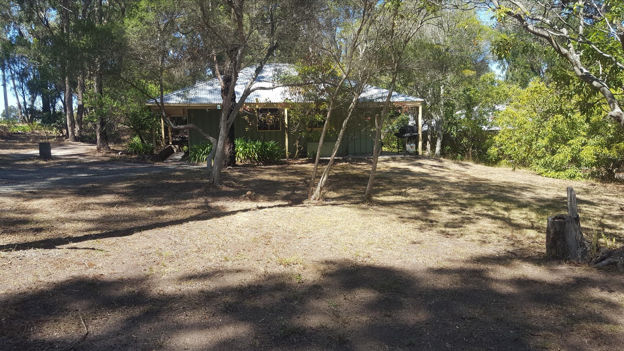 Outside cottage
