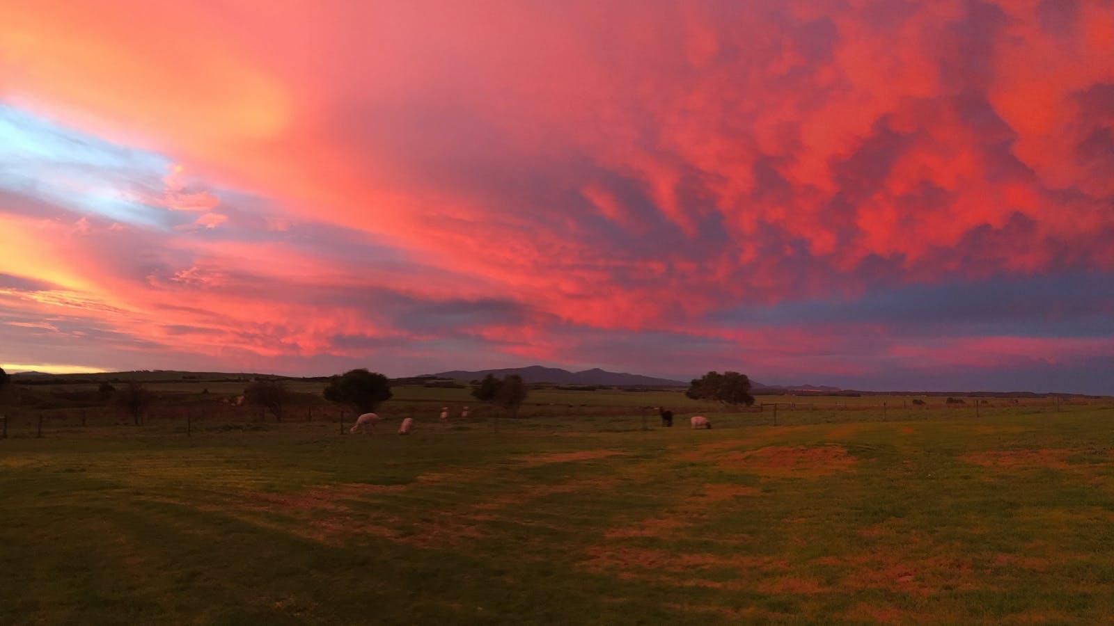 Sunrise at Promhills Cabins