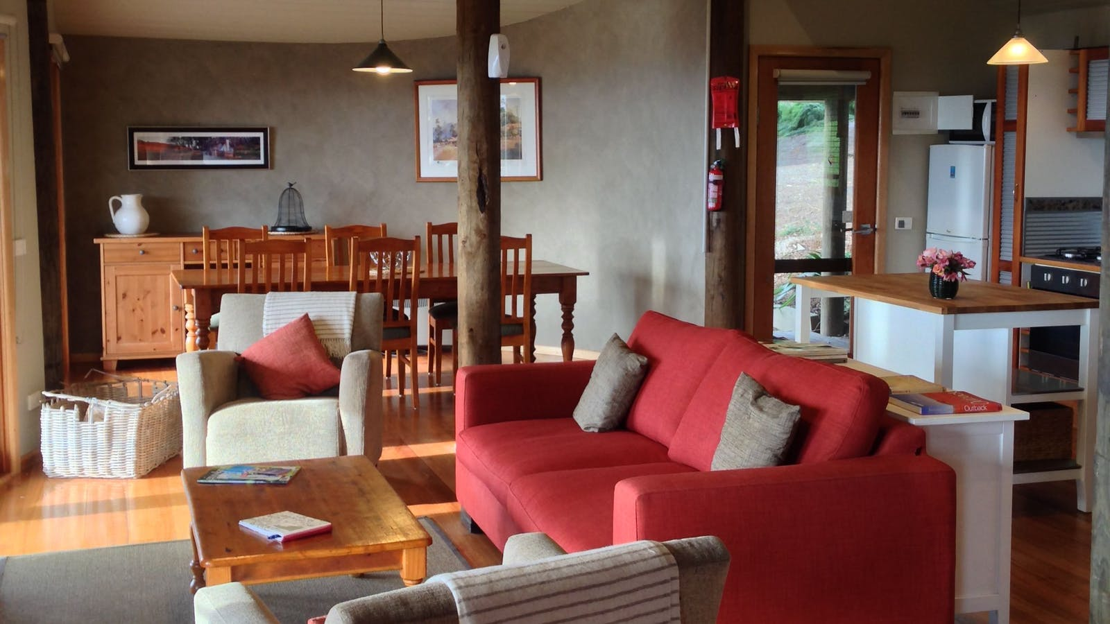 Living area Cottage 2