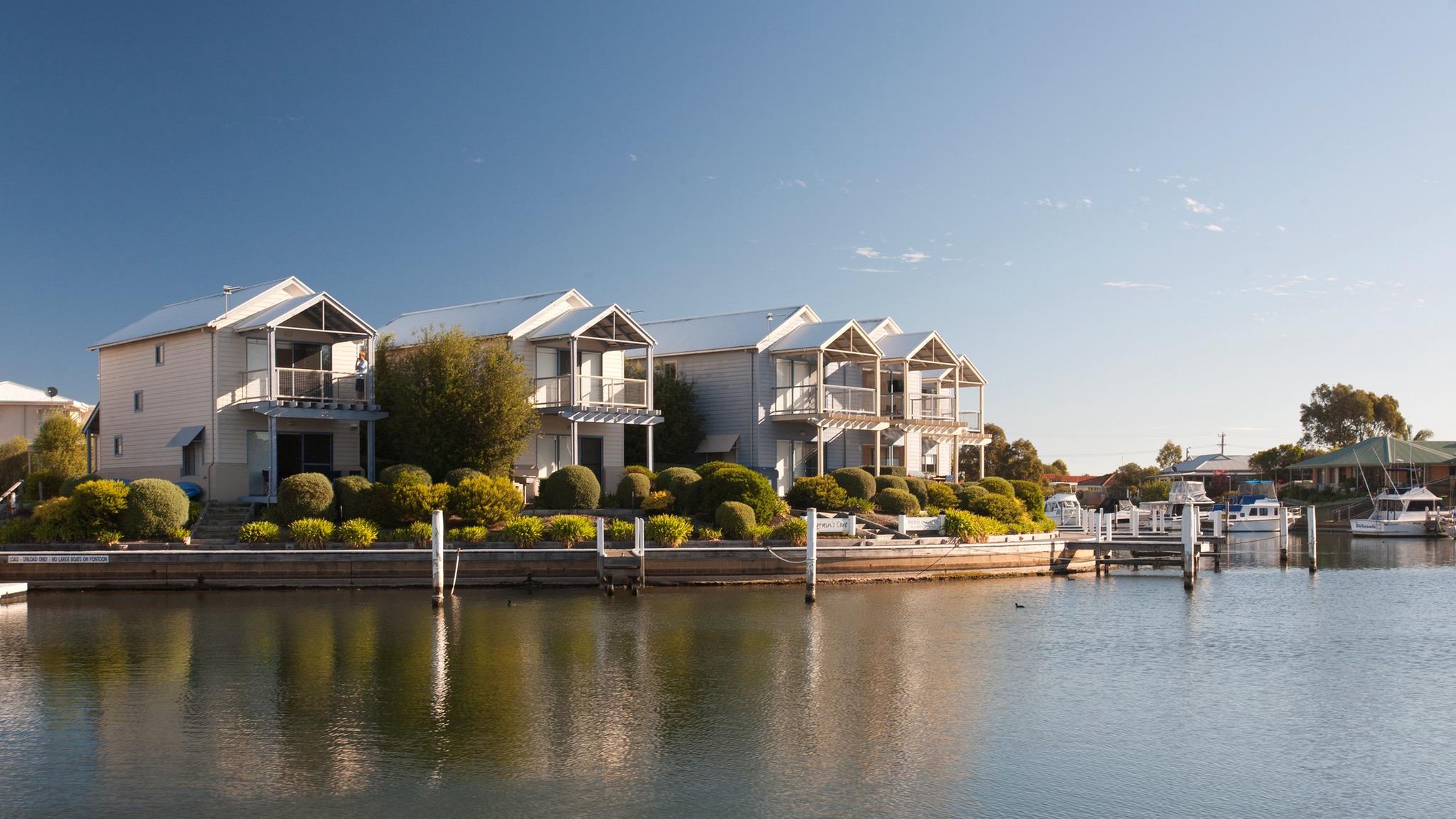 Waterfront accommodation