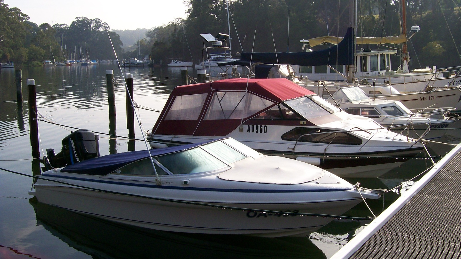 Boat Moorings Available