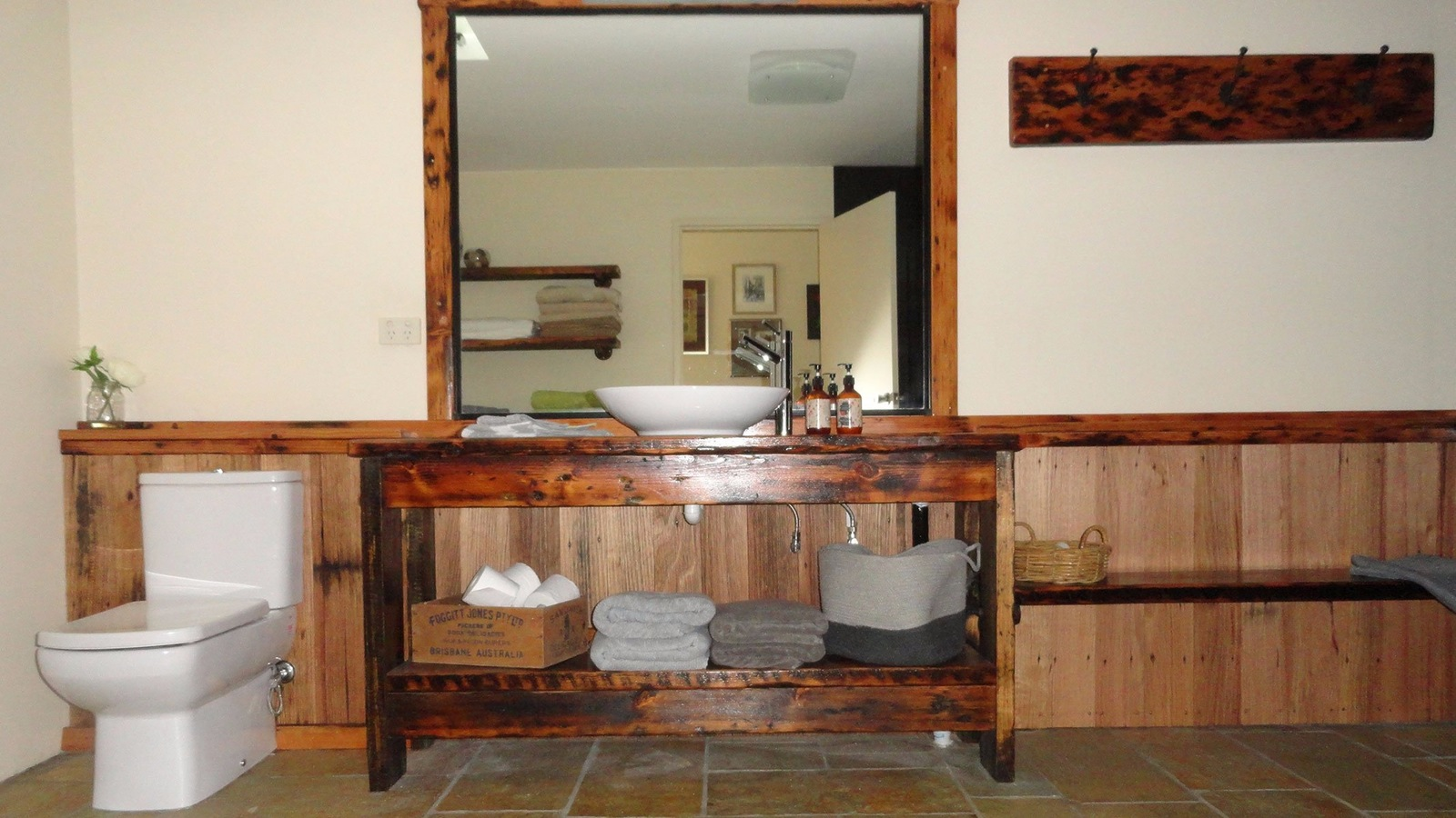 The Burrow bathroom