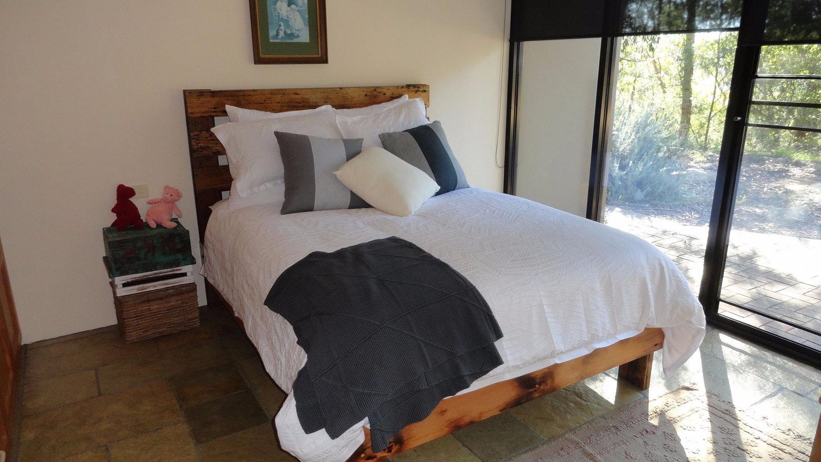 The Burrow queen bedroom