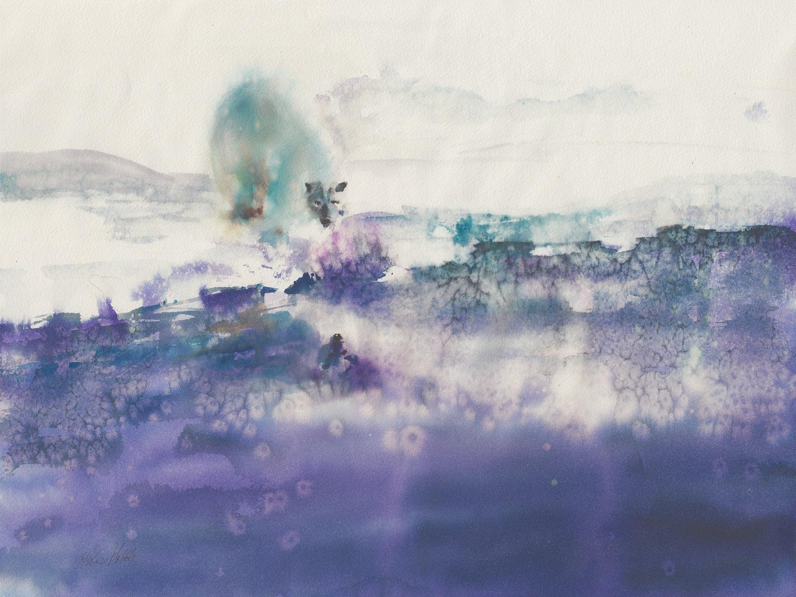 Winter Solstice - Watercolour - Polar Bear