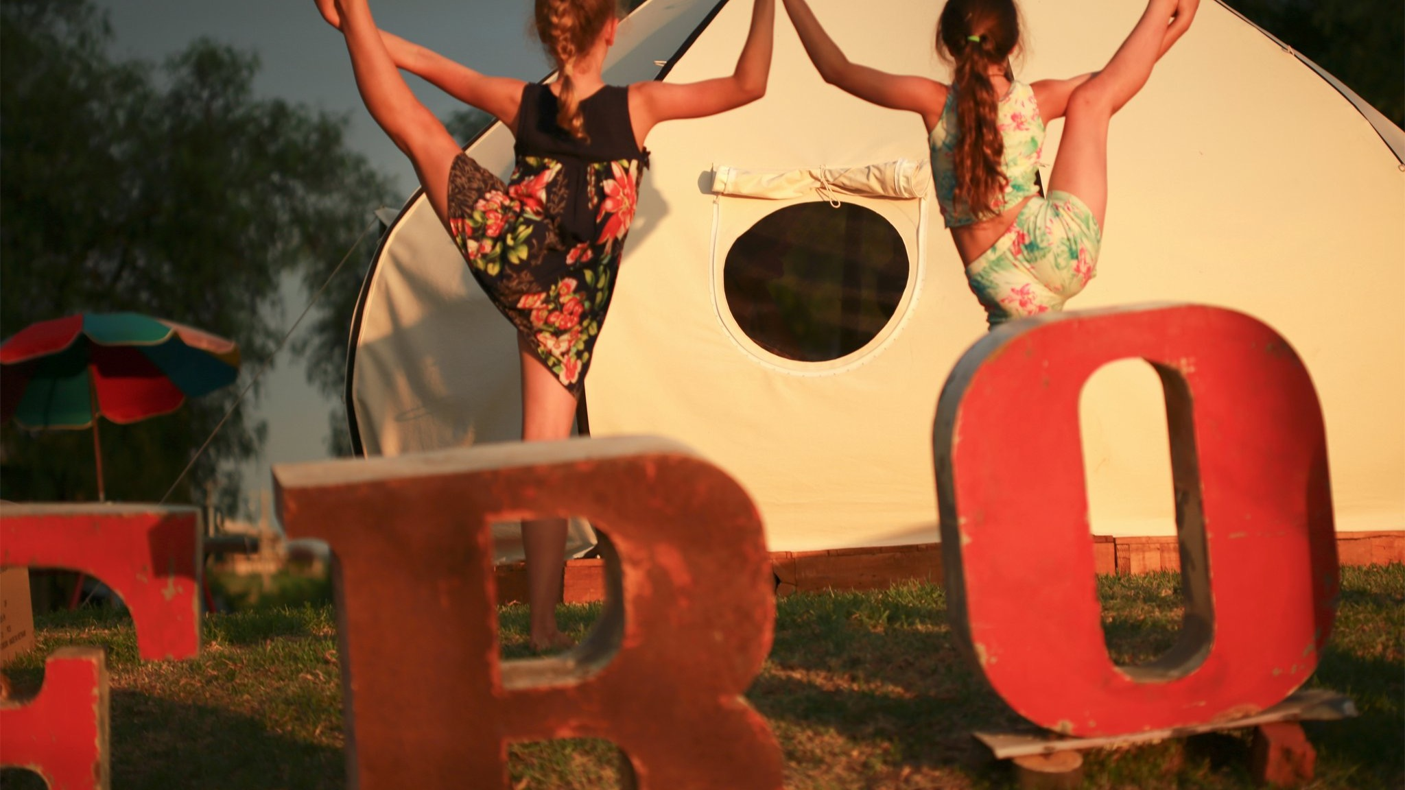 Sunset Ballet Girls, Nundra-Scapes Photography