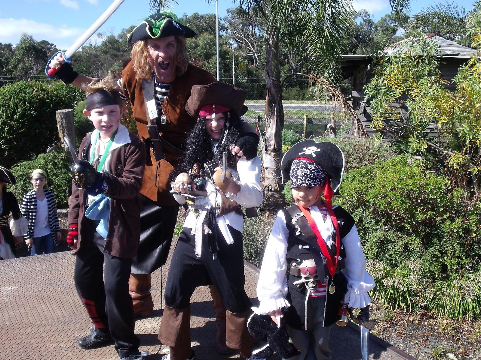 pirate festival family fun