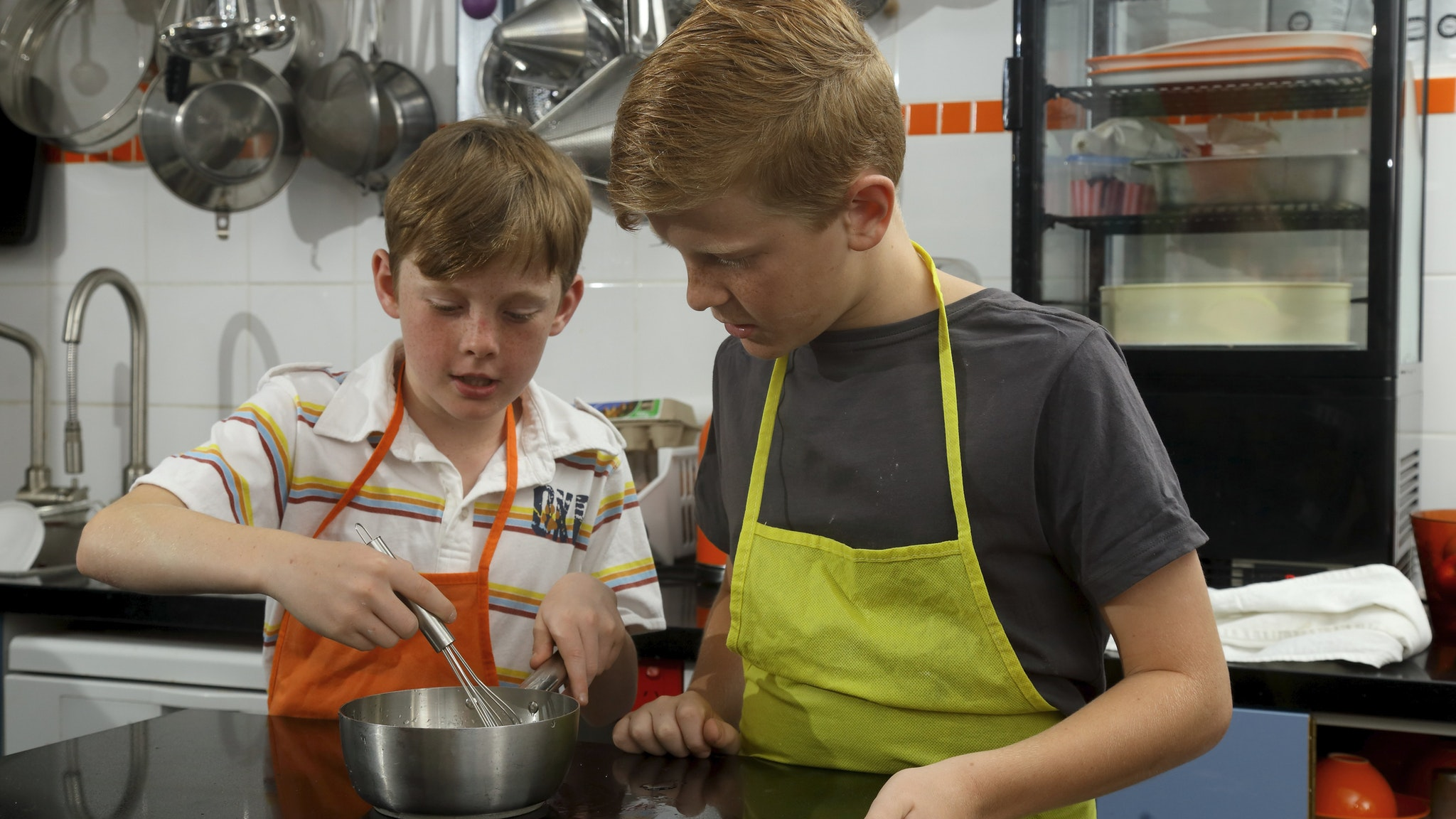 Kids in the Kitchen Cooking