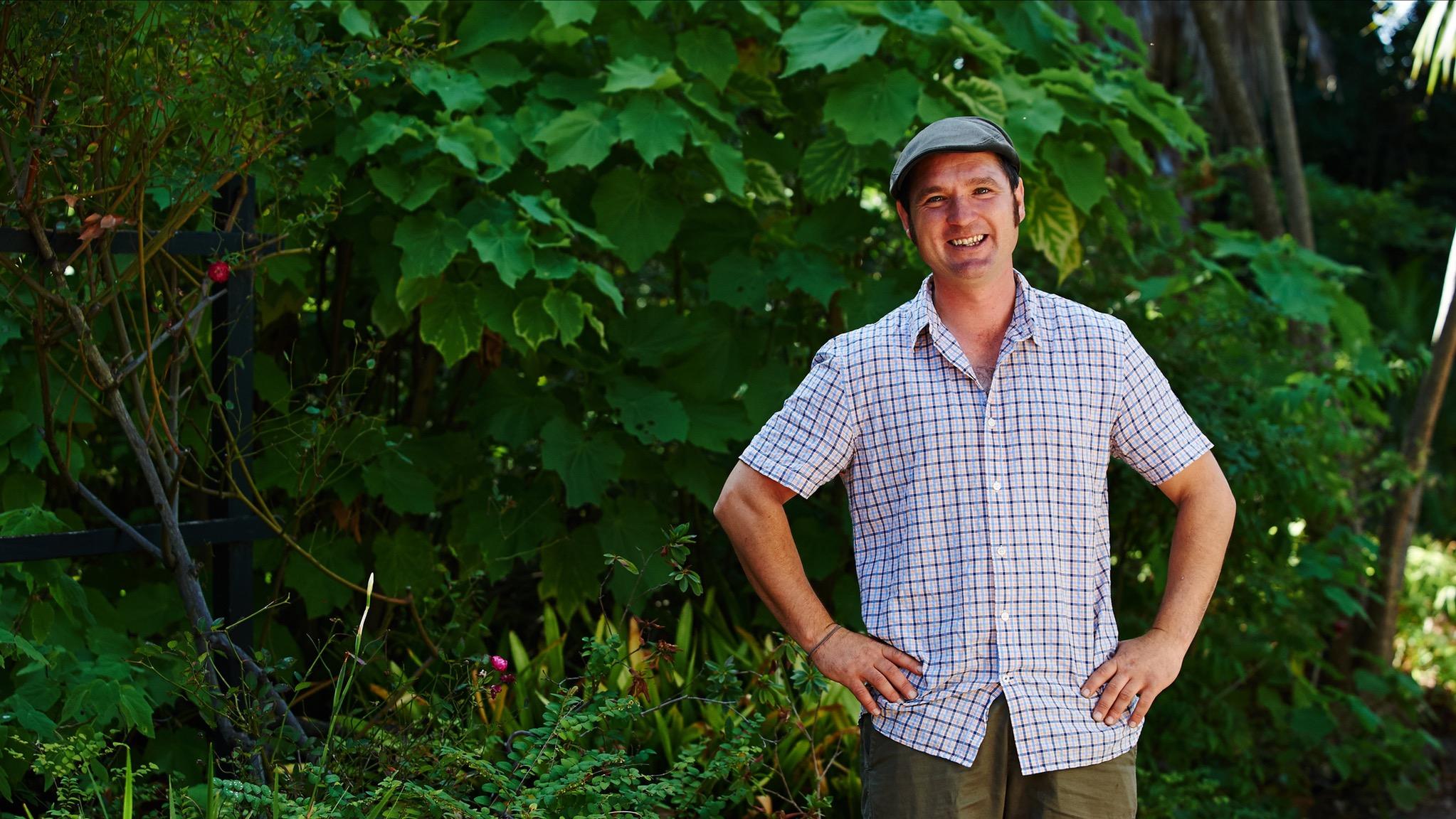 Tino Carnevale gardening expert