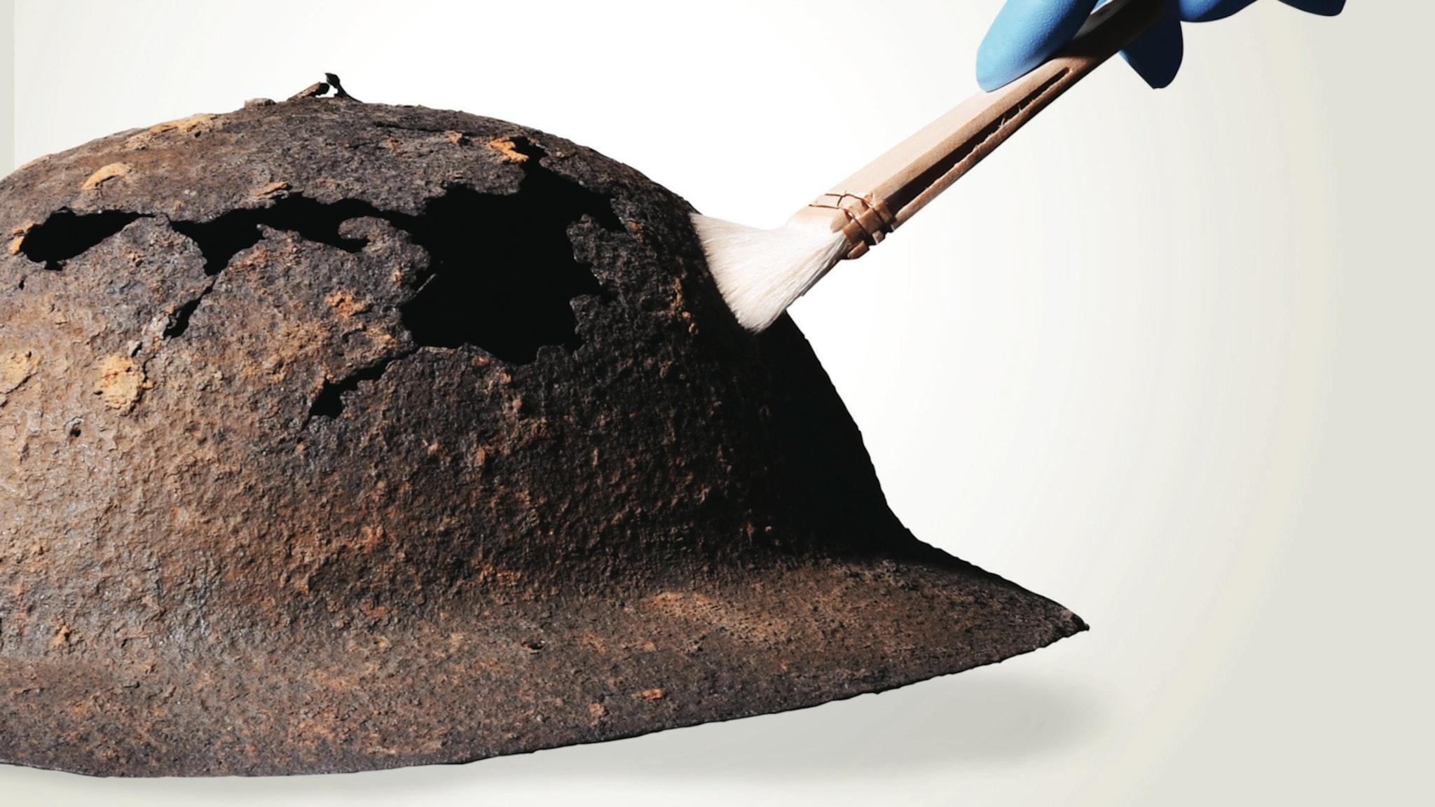 Rusty Helmet