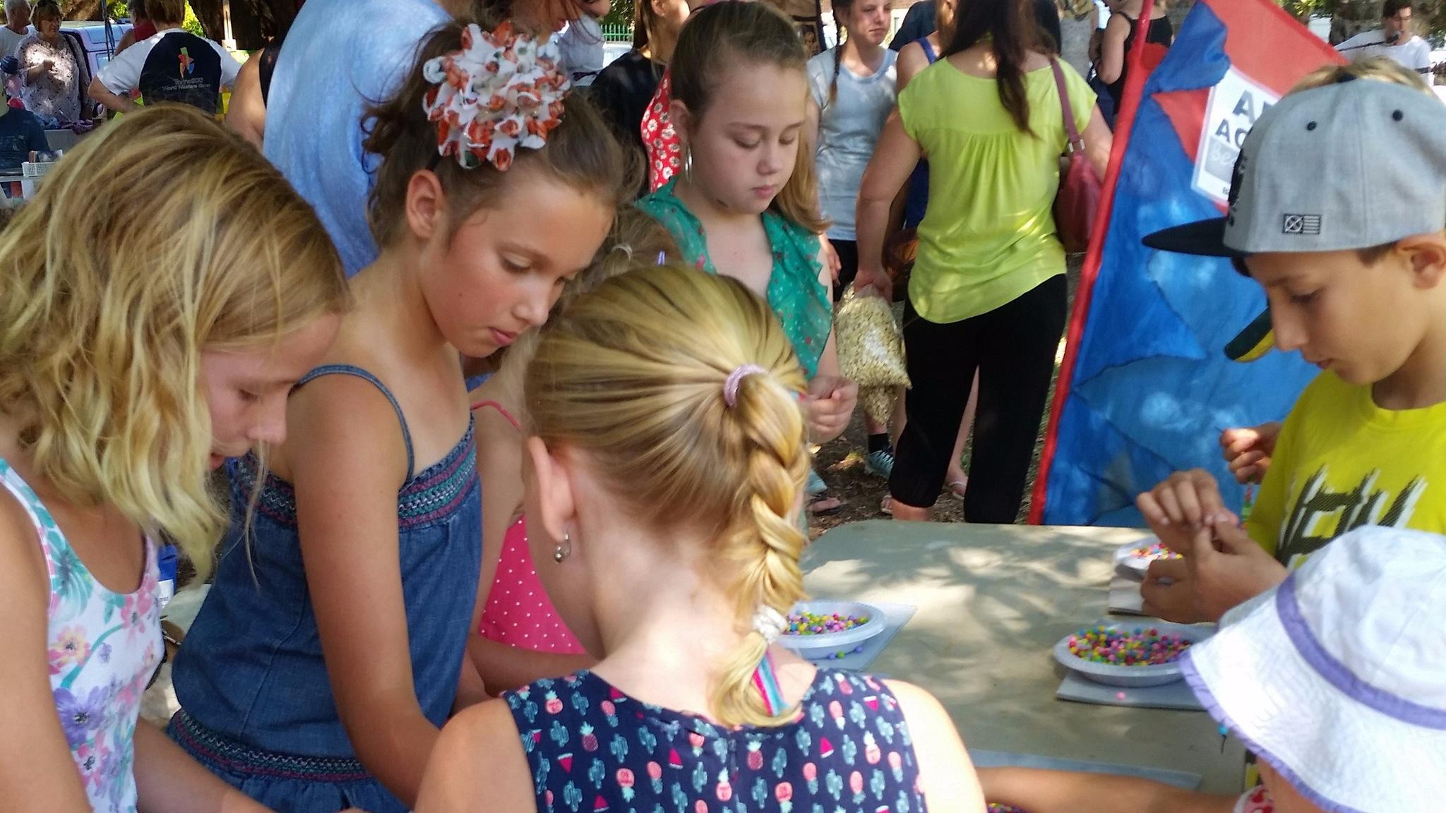 Free Children's Event - make a beaded bracelet