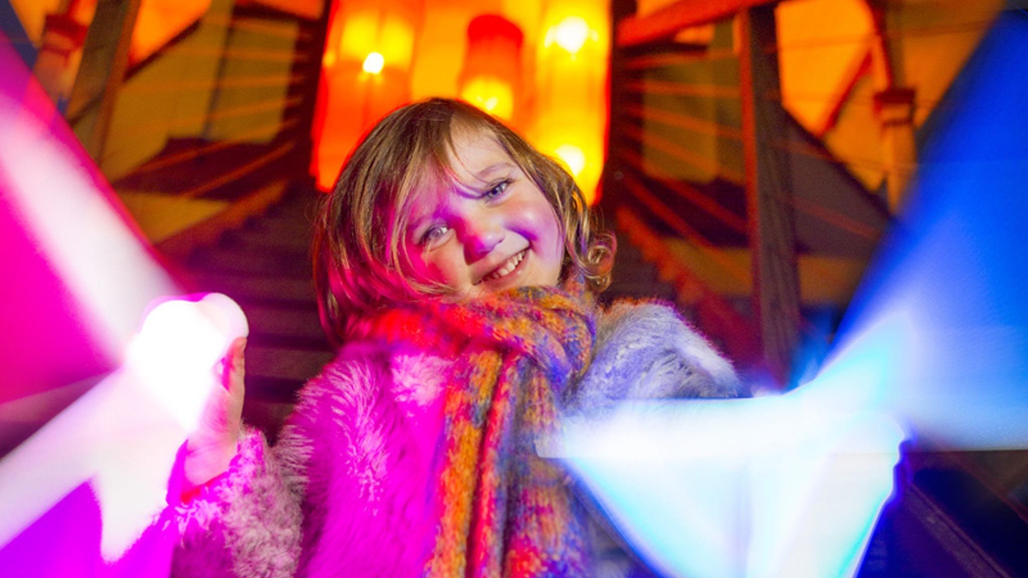 Kids love the Walhalla Vinter Ljusfest